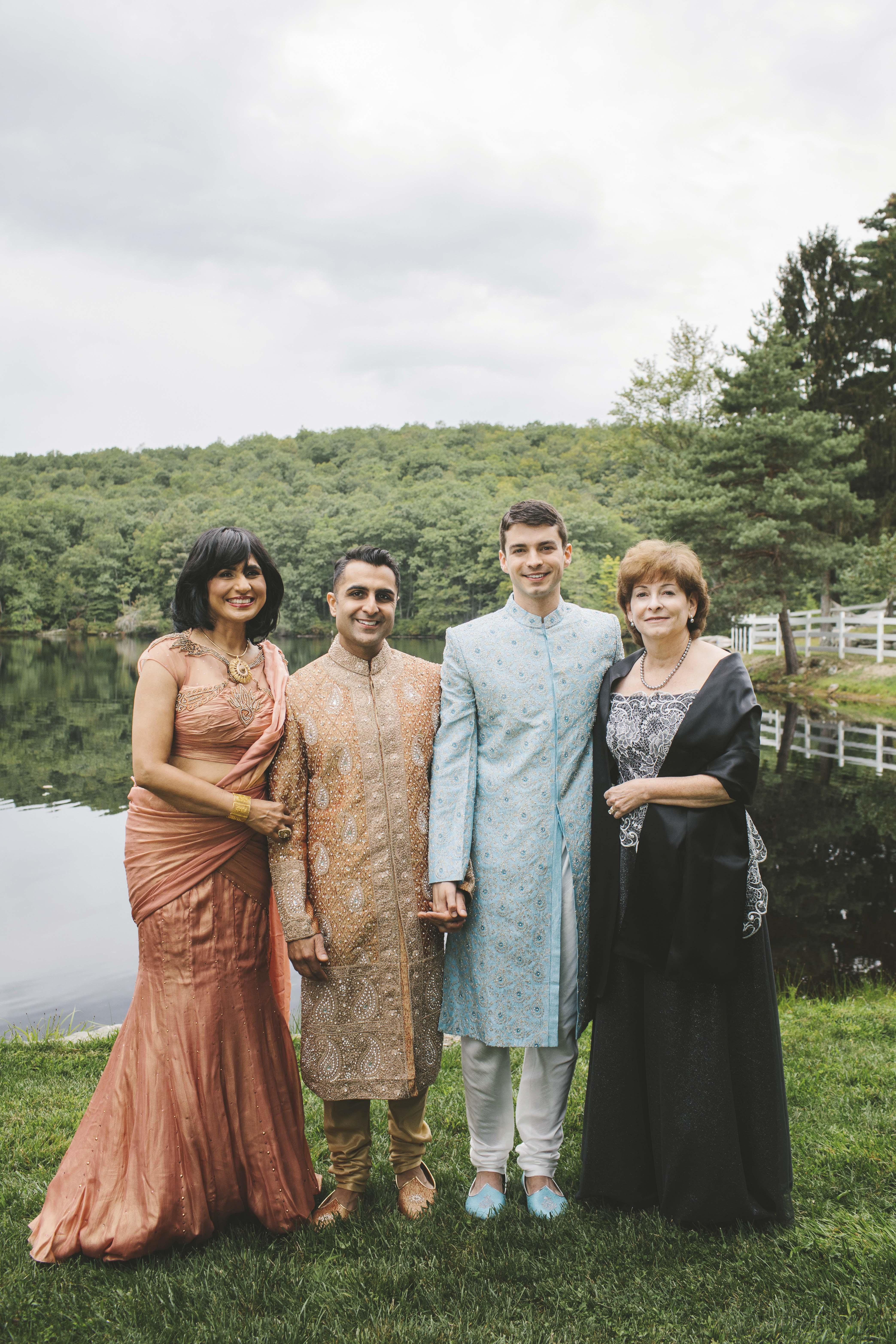 sanjay steven wedding moms