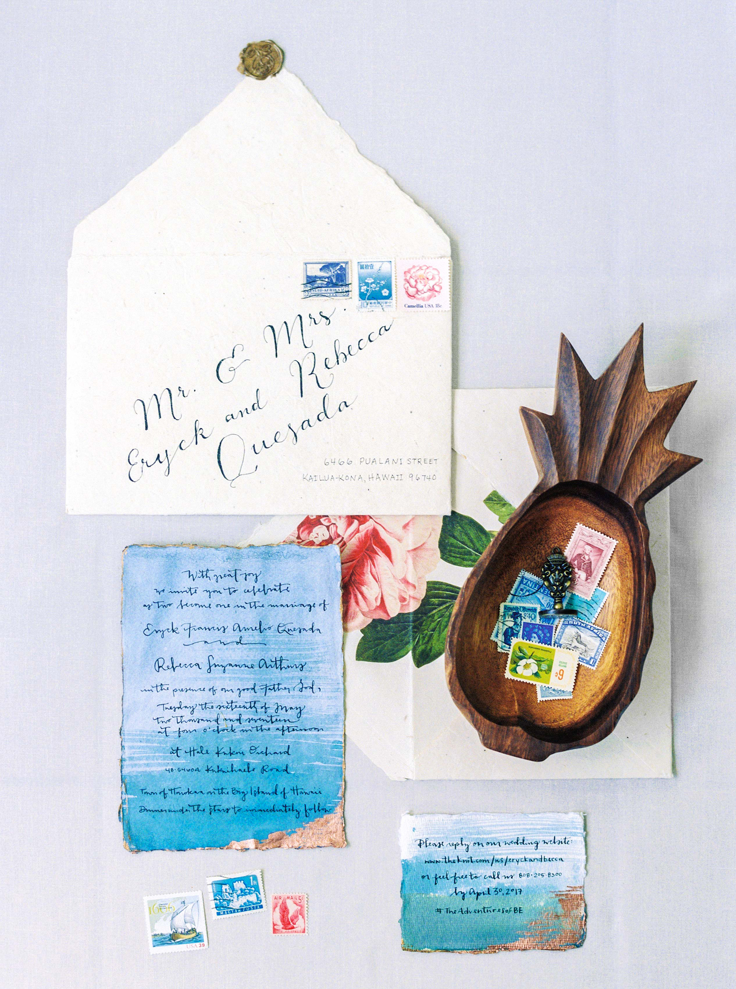 Beachy Invites