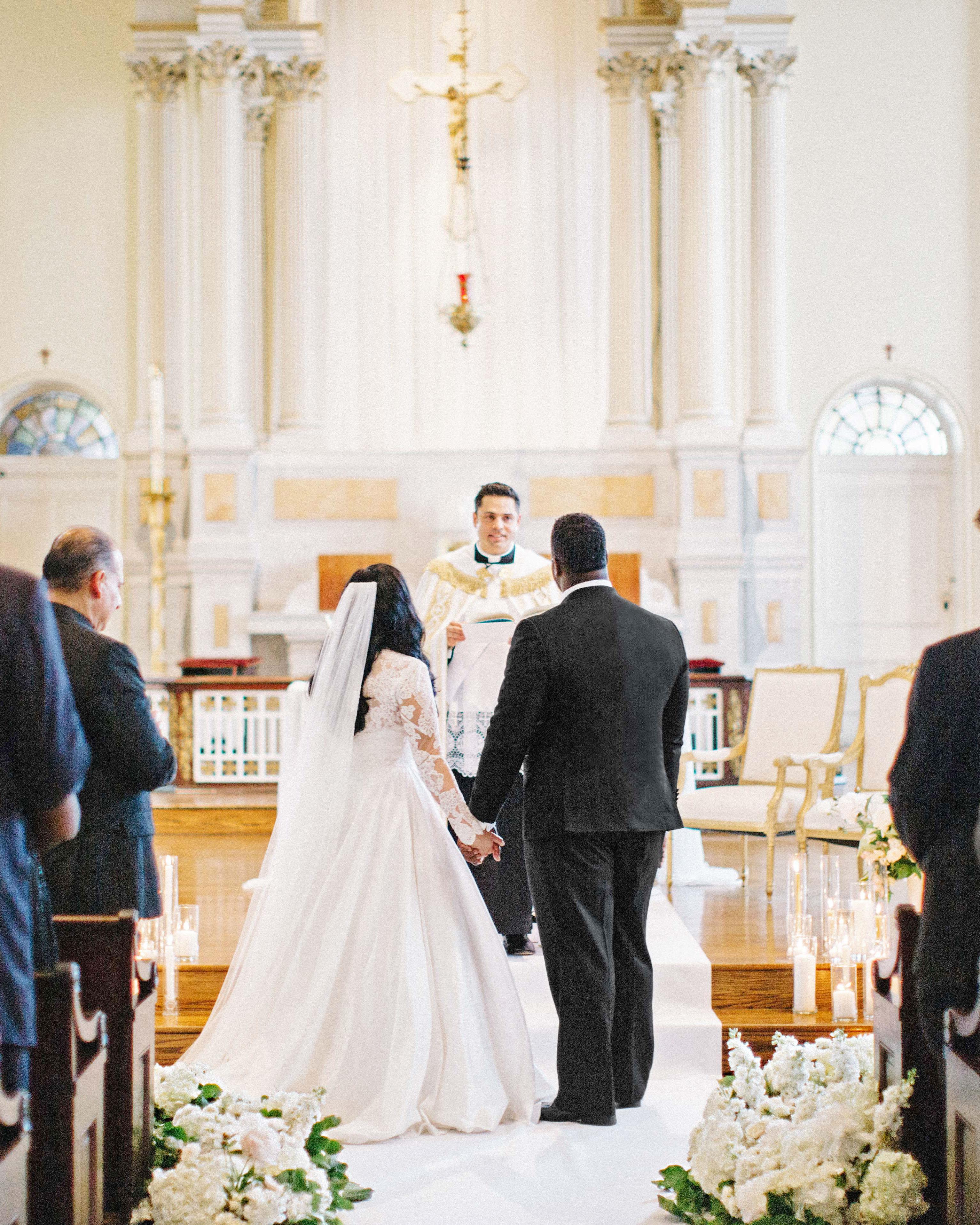 daniela emmanuel wedding maryland ceremony