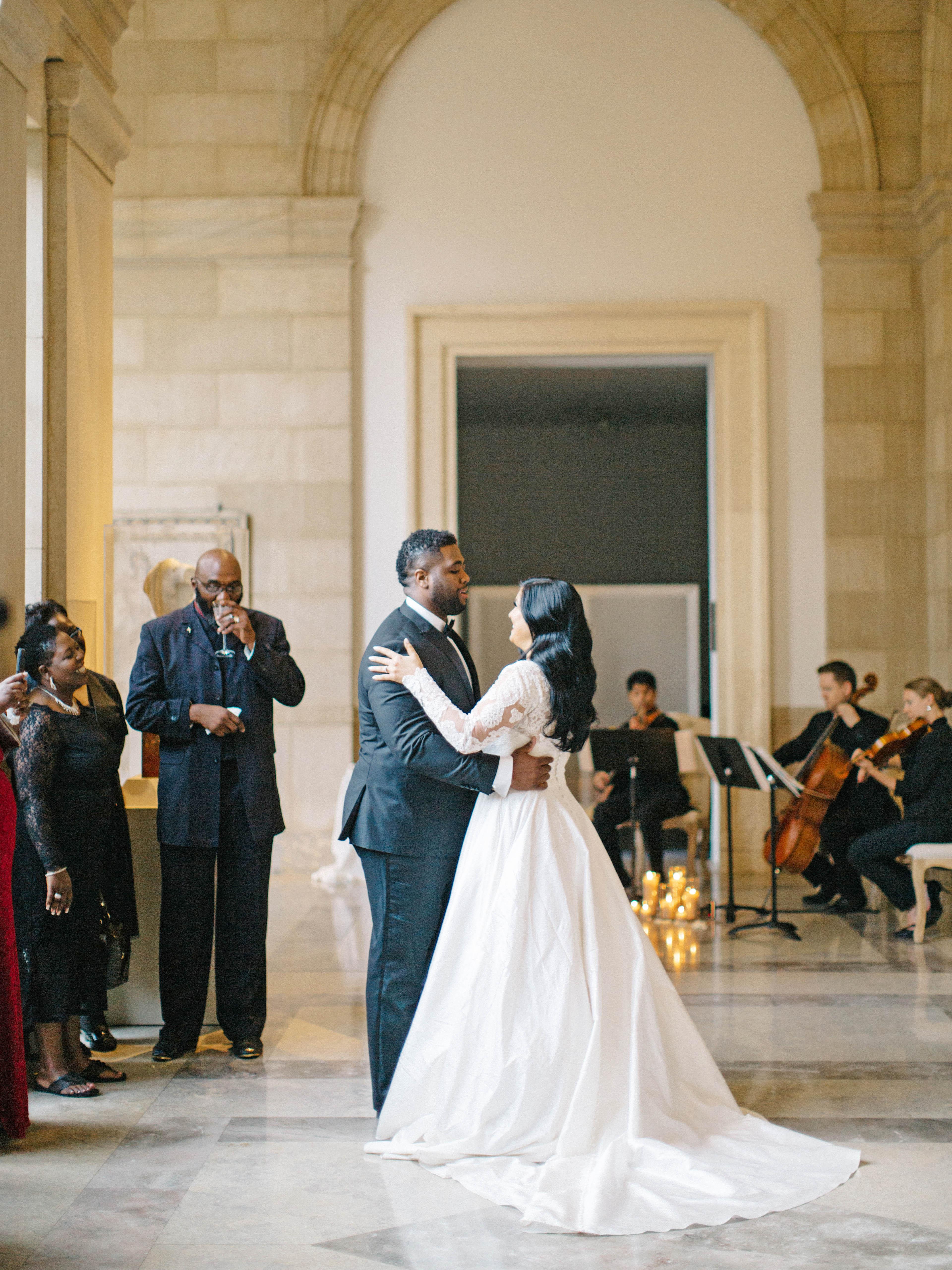 daniela emmanuel wedding maryland first dance