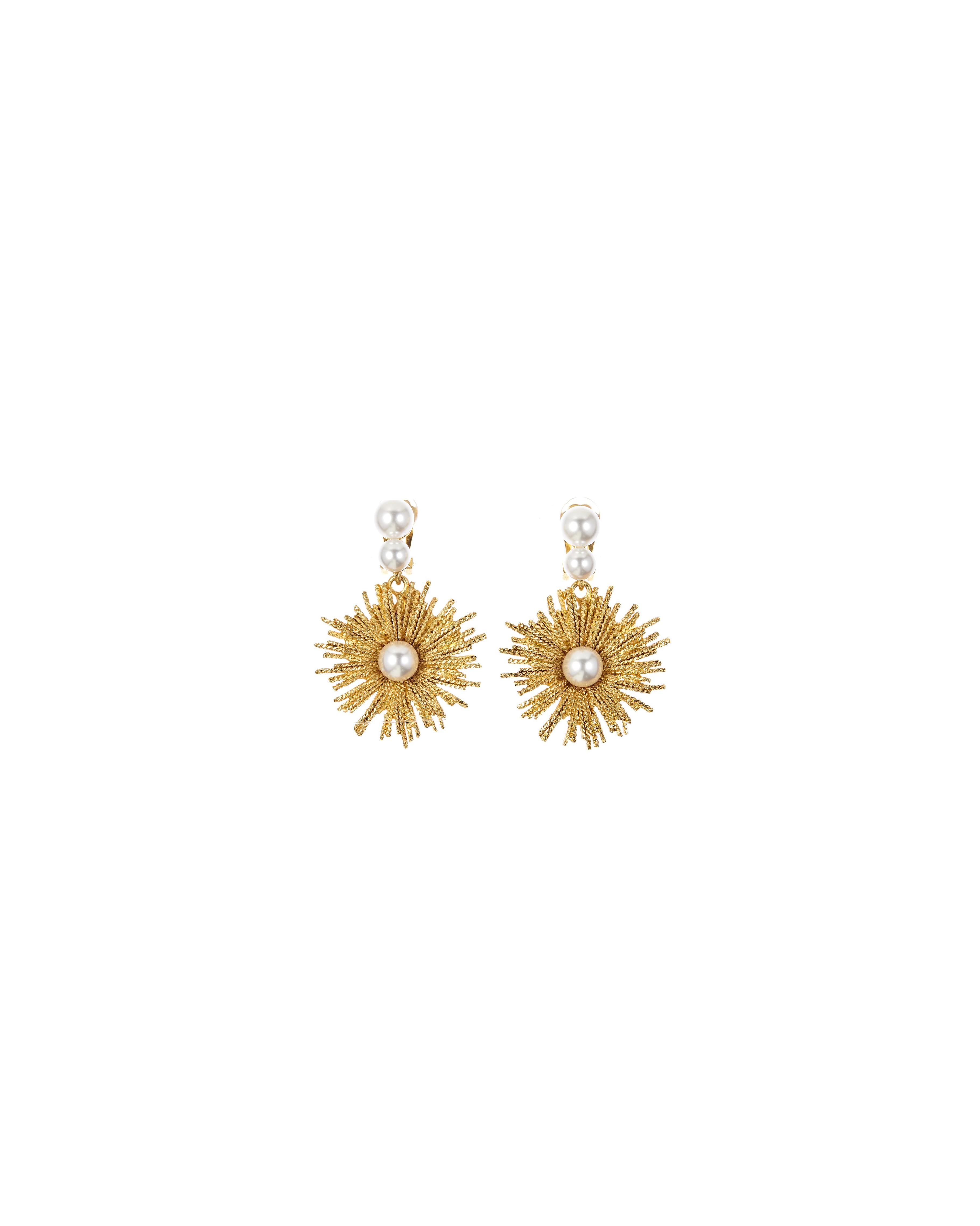 pearl wedding earrings oscar de la renta