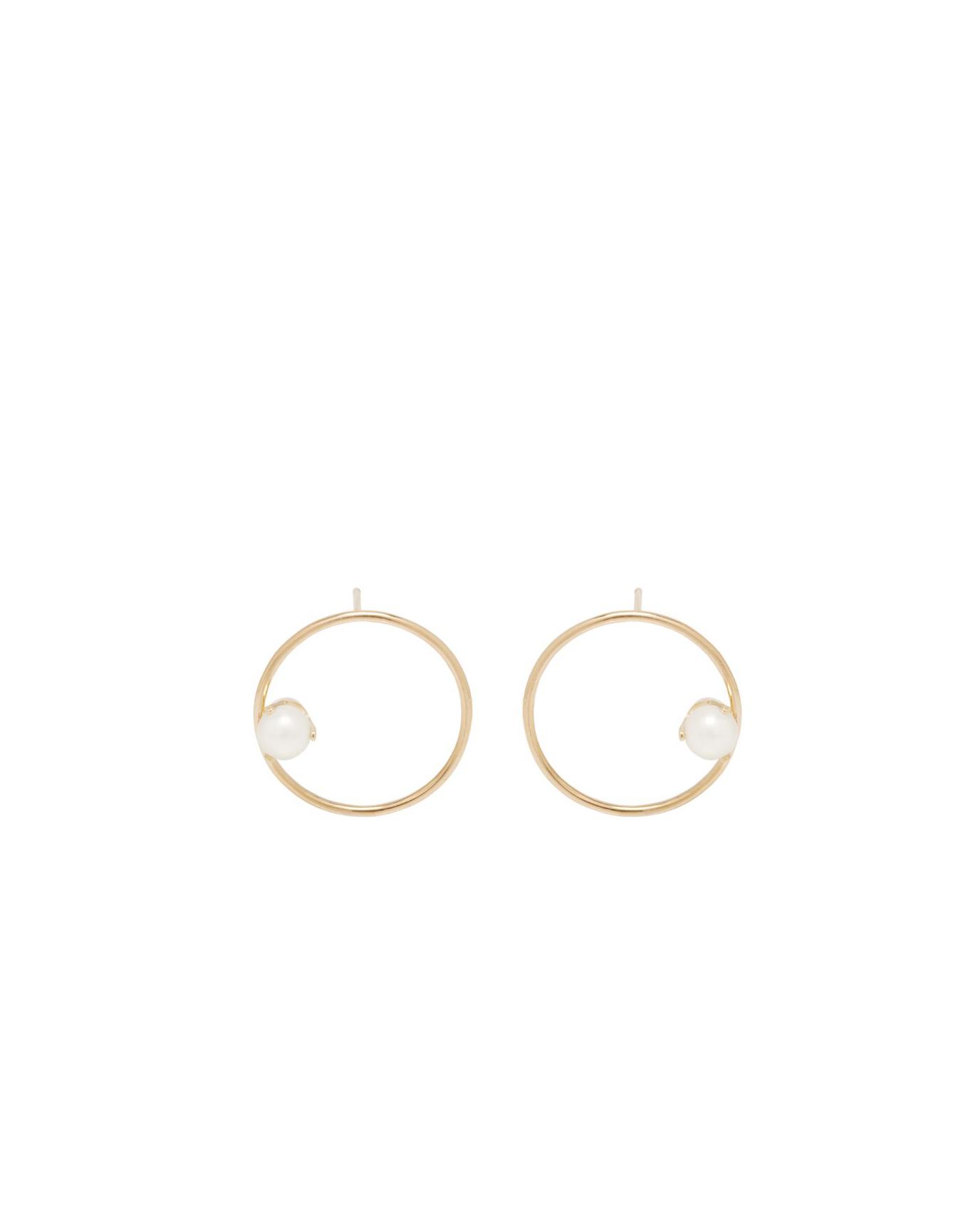 pearl wedding earrings zoe chicco