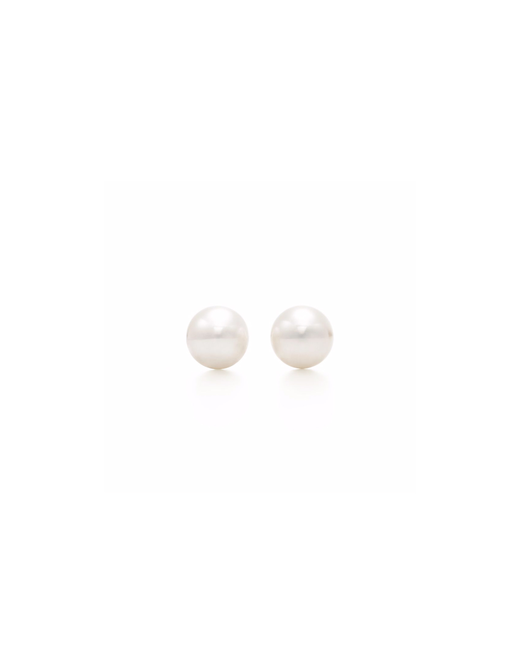 pearl wedding earrings tiffany and co post