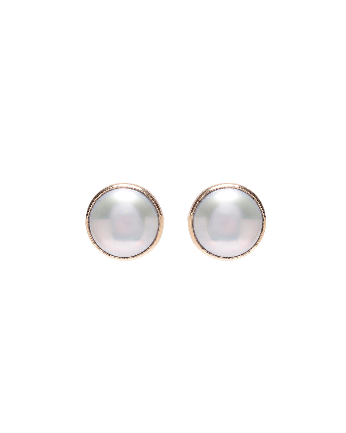 pearl wedding earrings jamie joseph