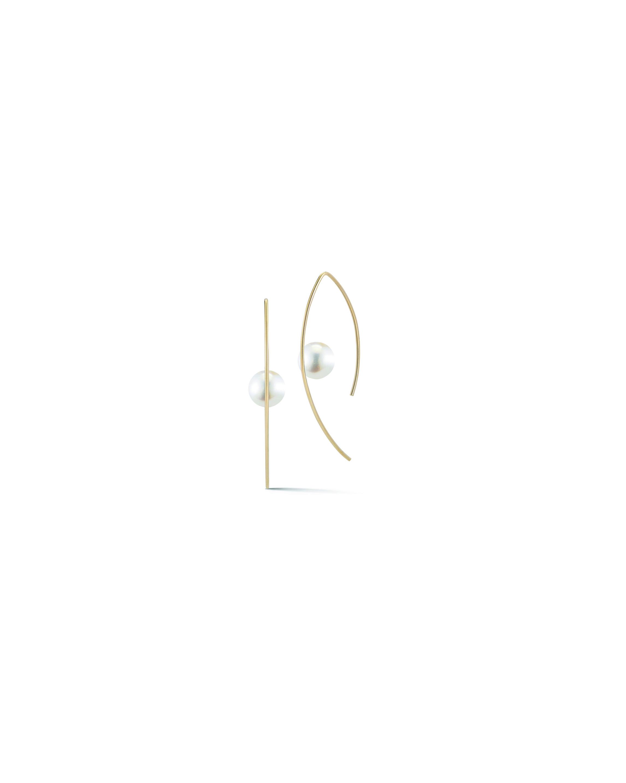 pearl wedding earrings mizuki
