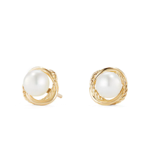 pearl wedding earrings david yurman