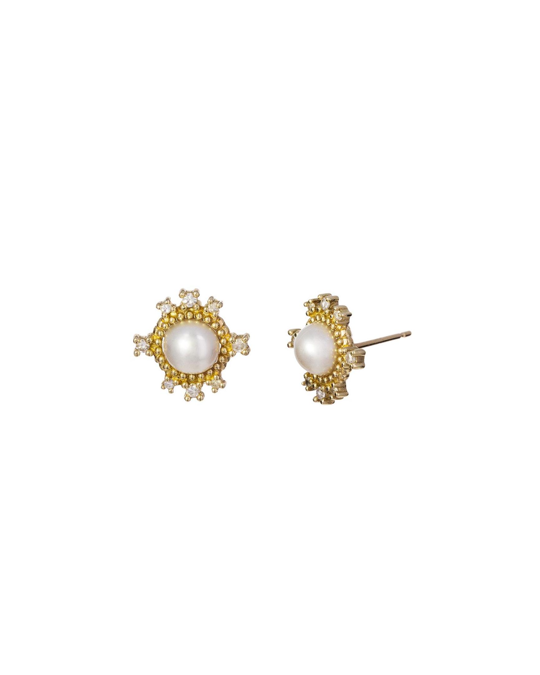 pearl wedding earrings nancy newberg