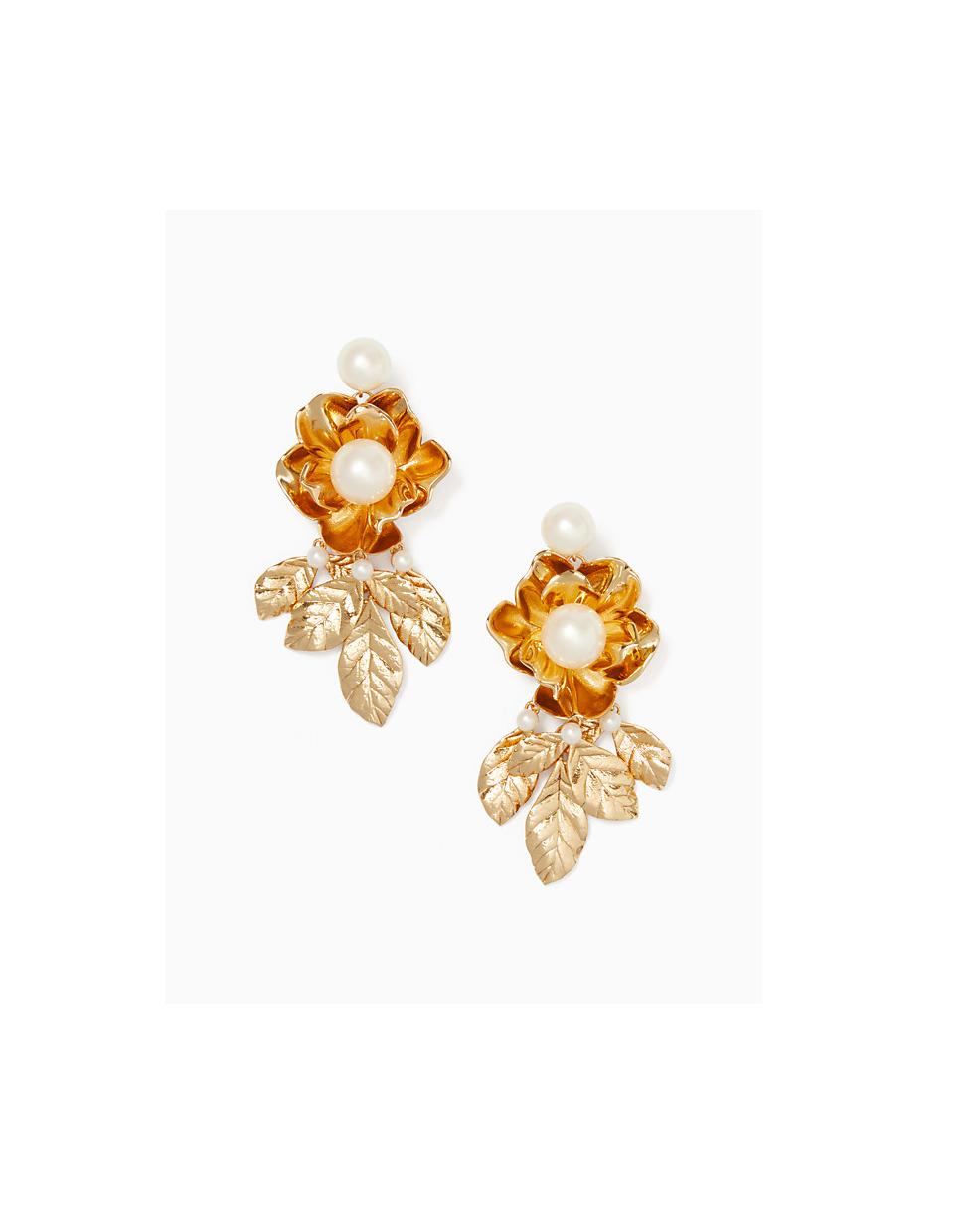 pearl wedding earrings kate spade