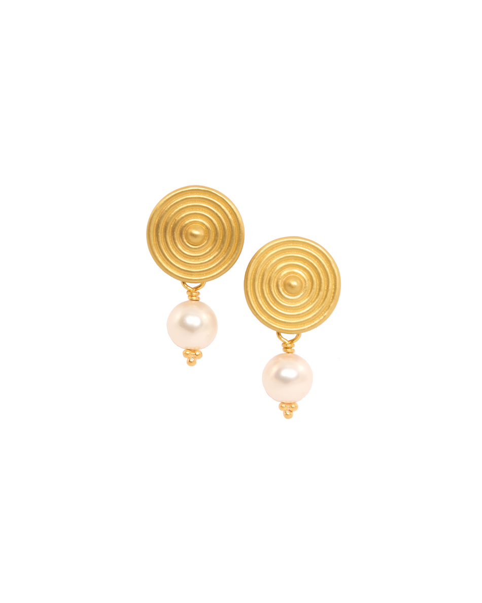 pearl wedding earrings reinstein ross