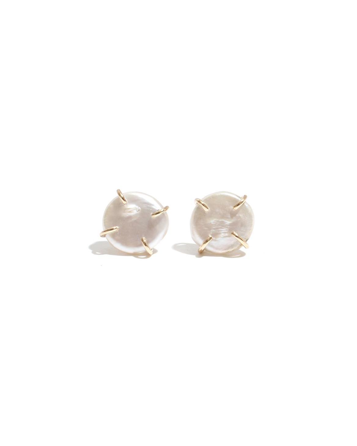 pearl wedding earrings melissa joy manning