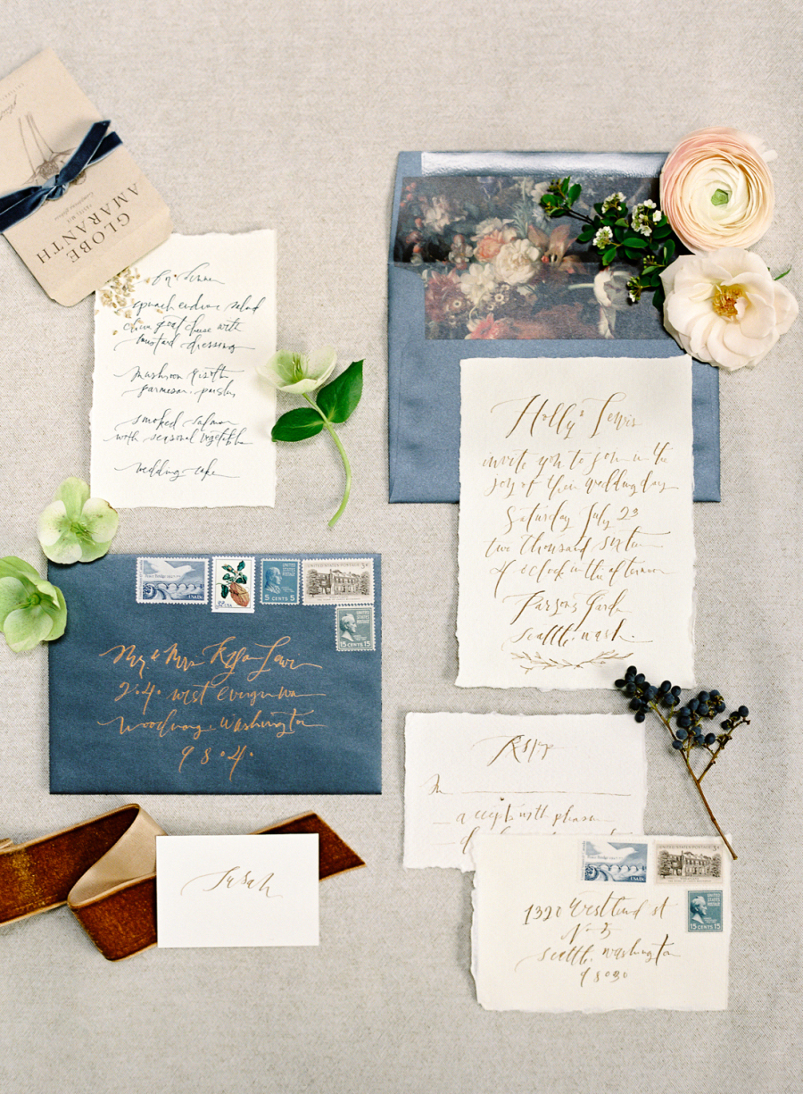 deckle edge invitations omalley photographers