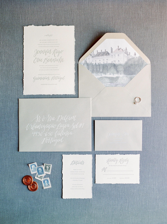 deckle edge invitations brancoprata