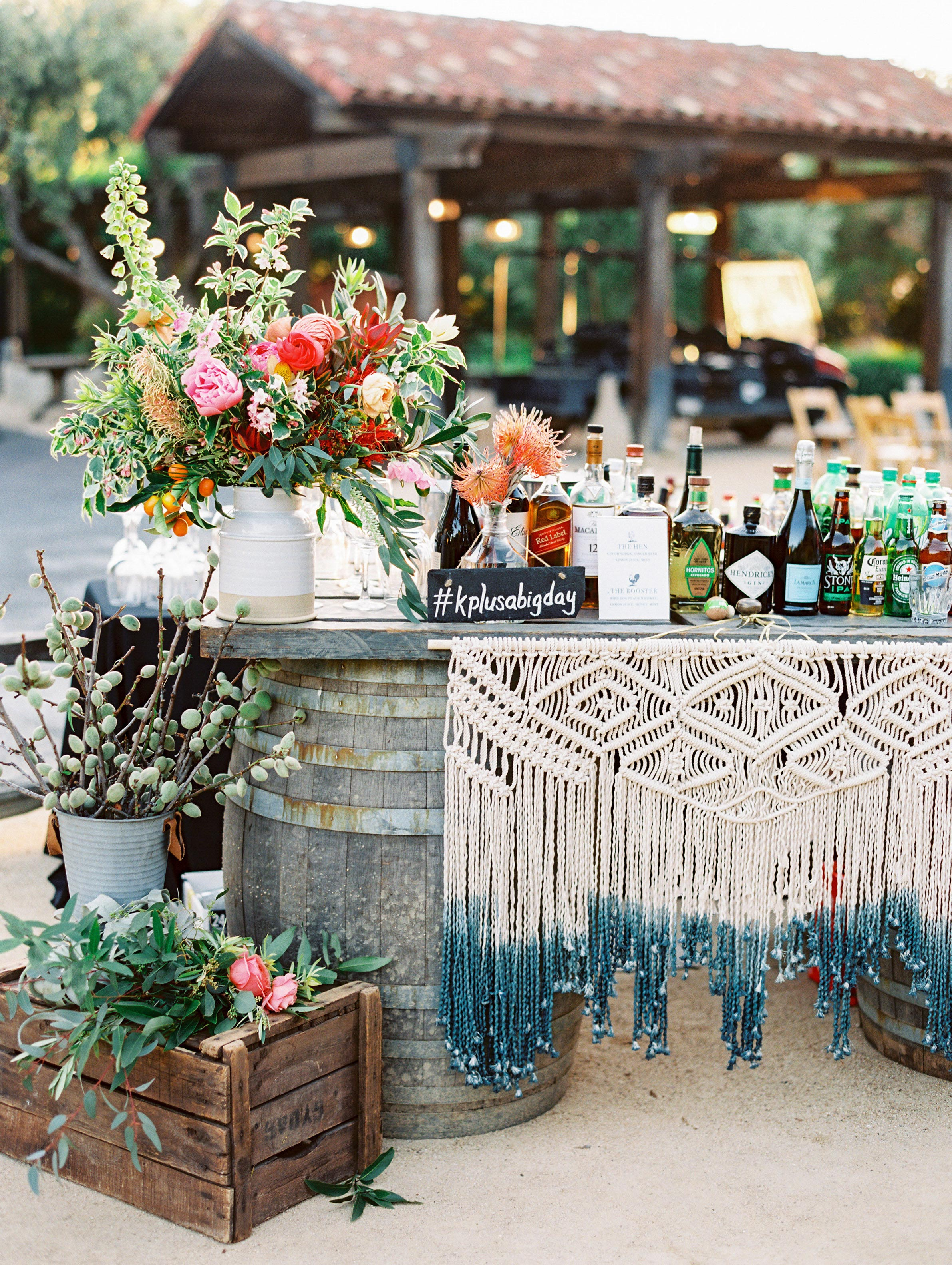 macrame wedding decor mirelle carmichael