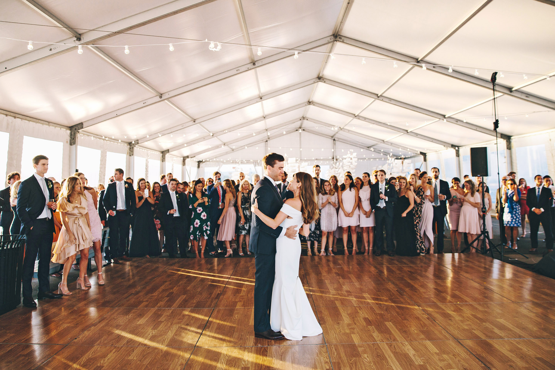 laura john wedding massachusetts dancing