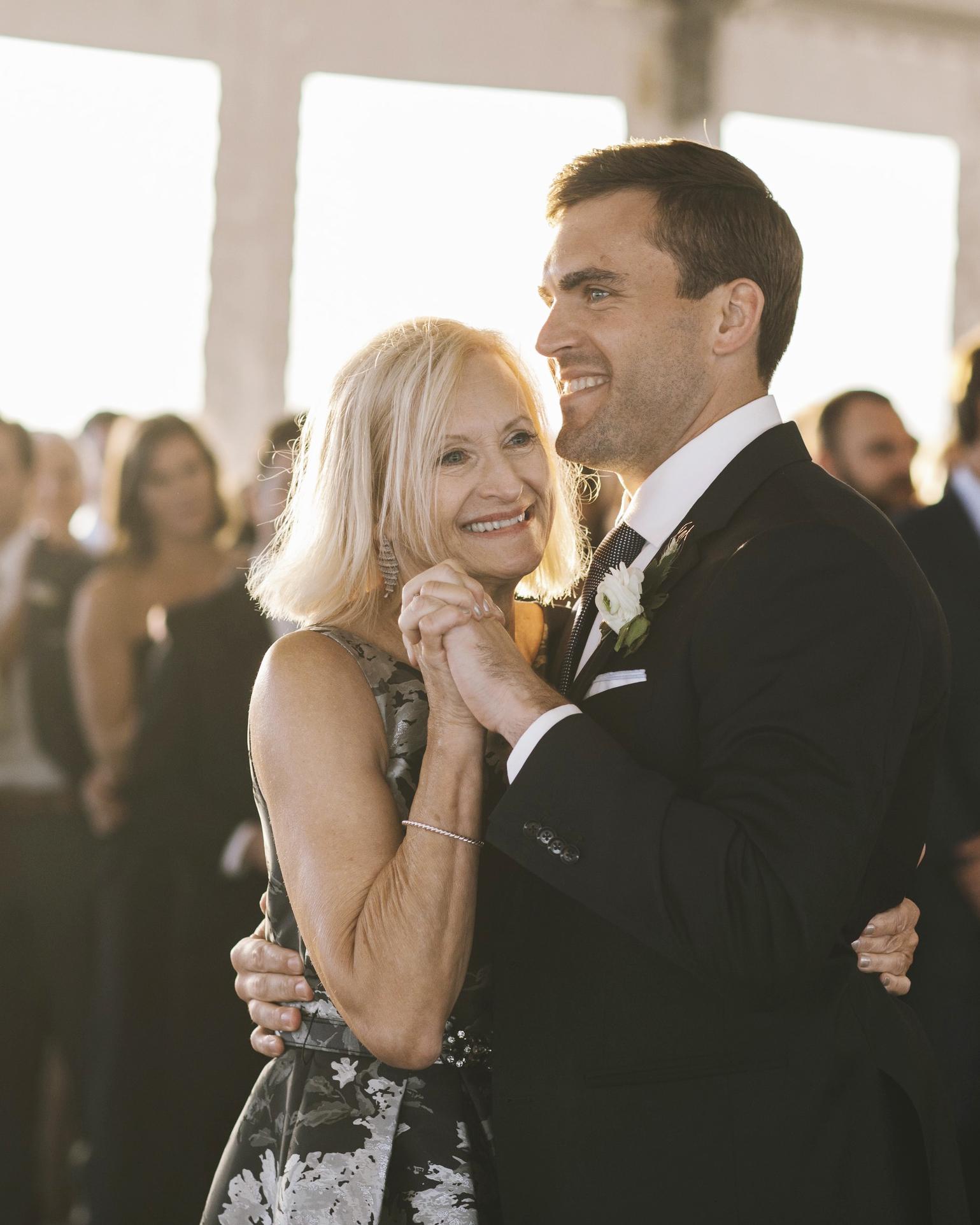 laura john wedding massachusetts mom dance