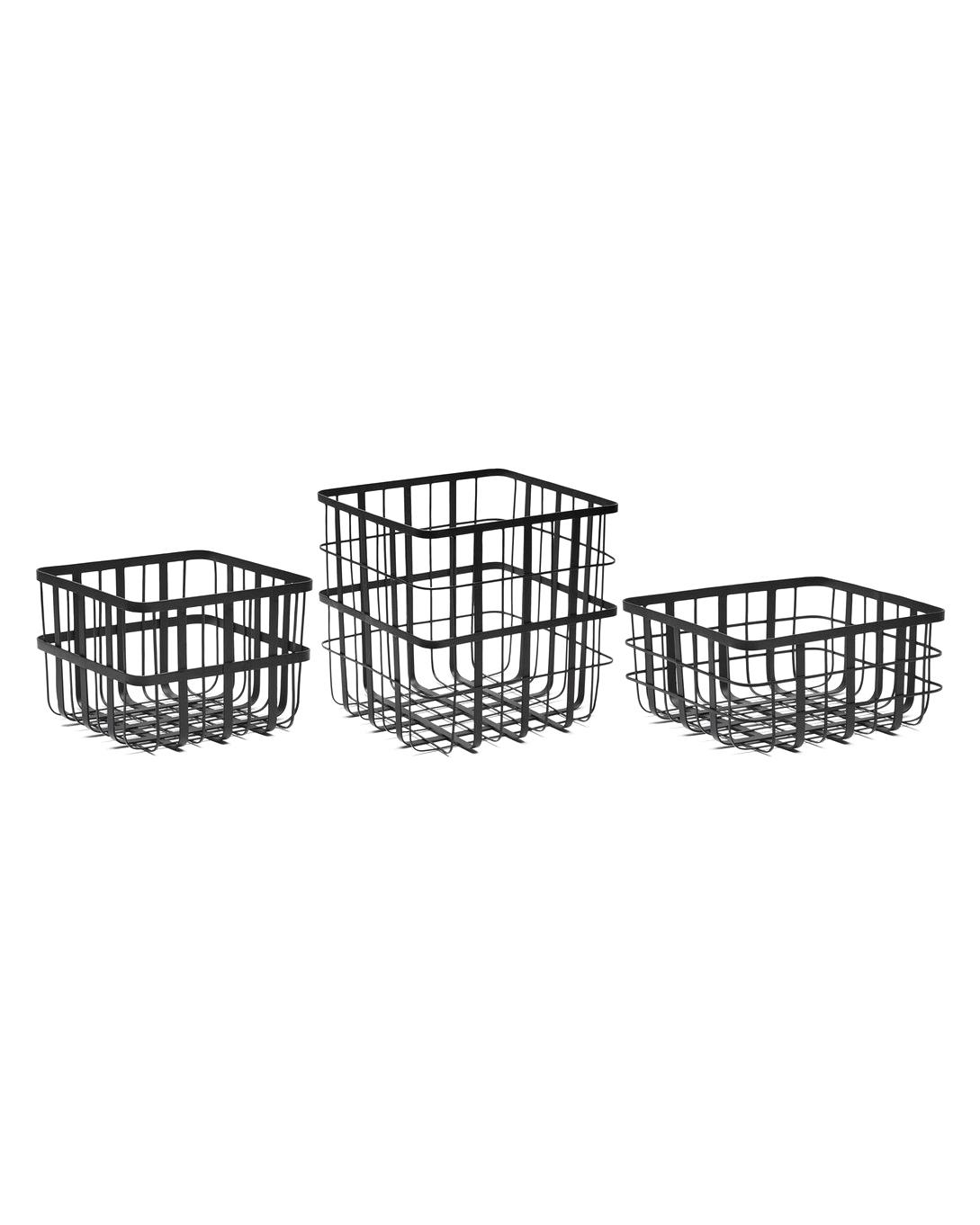 iron anniversary gifts black iron baskets louise roe copenhagen