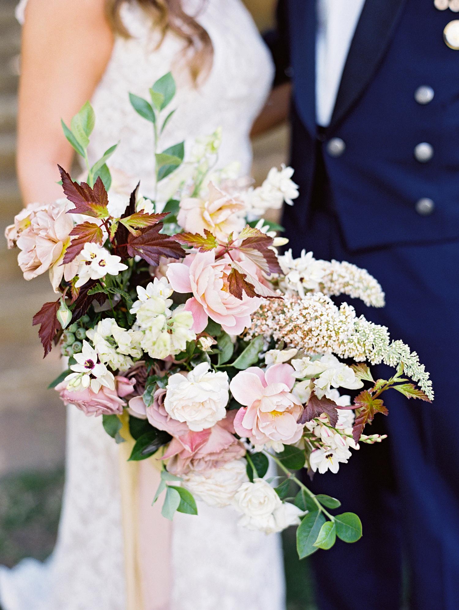 megan scott wedding bridal bouquet