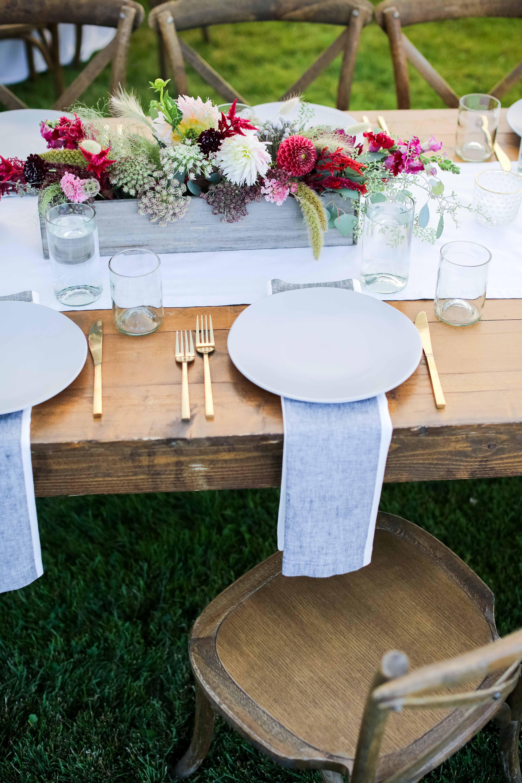 wedding placesetting