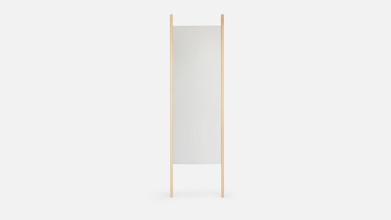 wood anniversary gift mirror