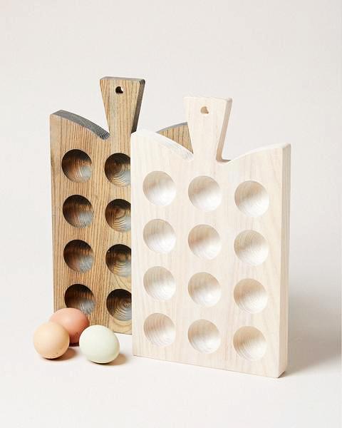 wood anniversary gift egg board