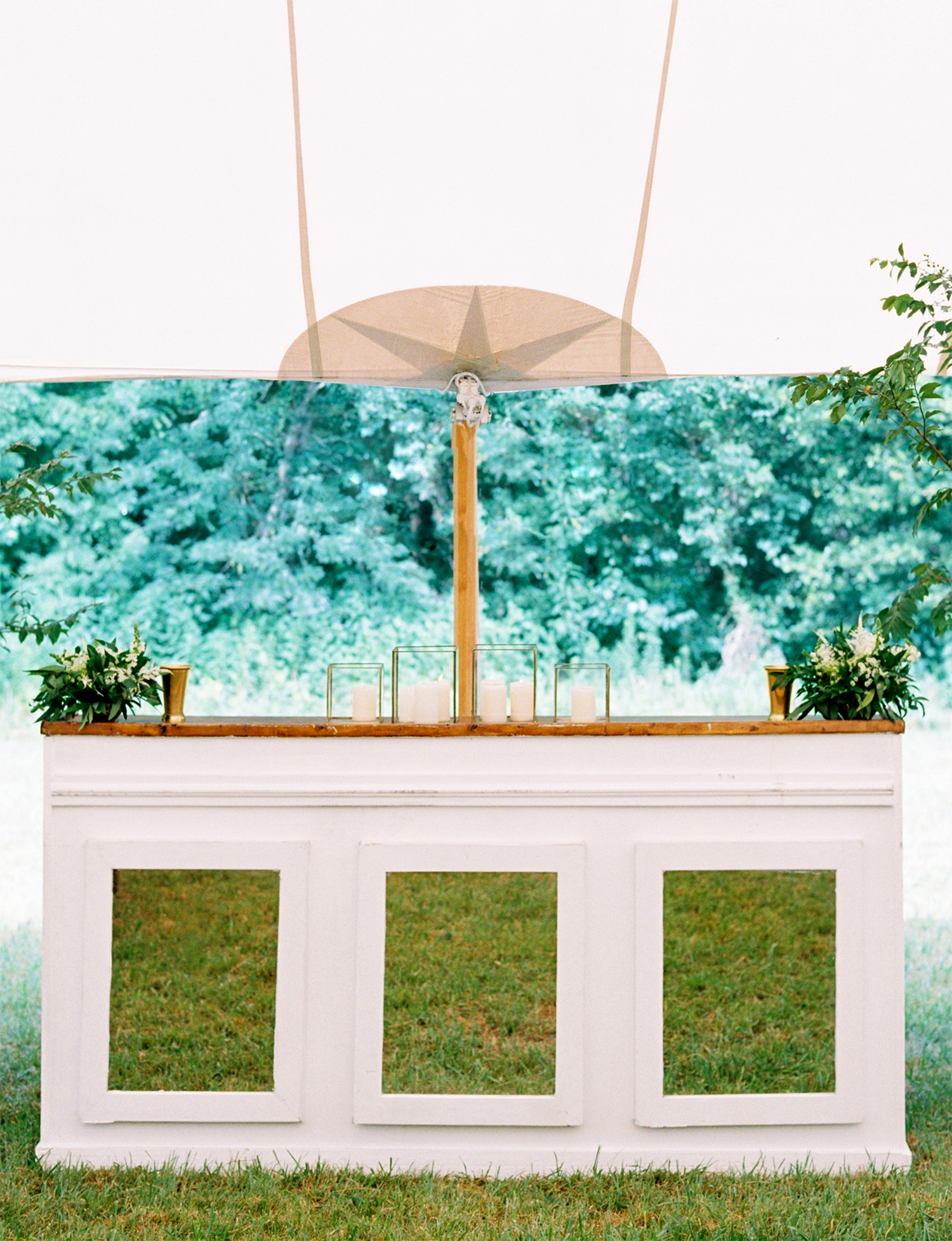dani jackson wedding bar and tent
