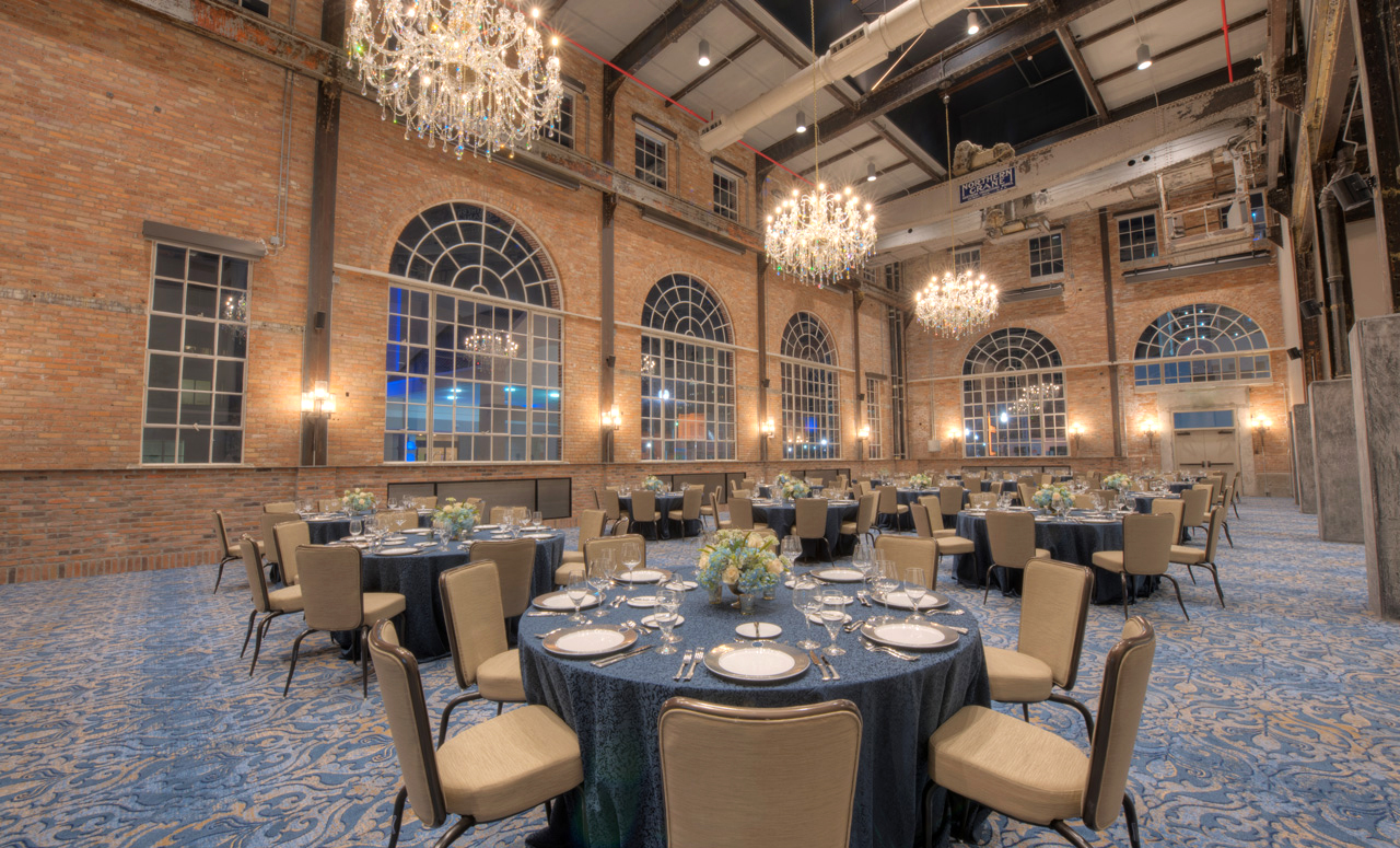 new venue indoor ballroom seating