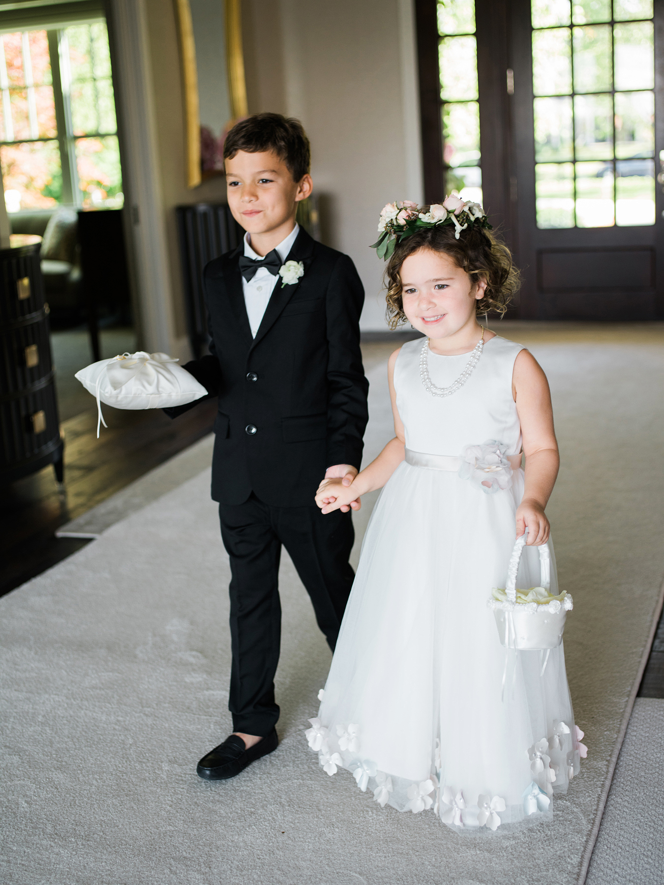 How Much Should the Couple Spend on a Gift for the Flower Girl or Ring Bearer?