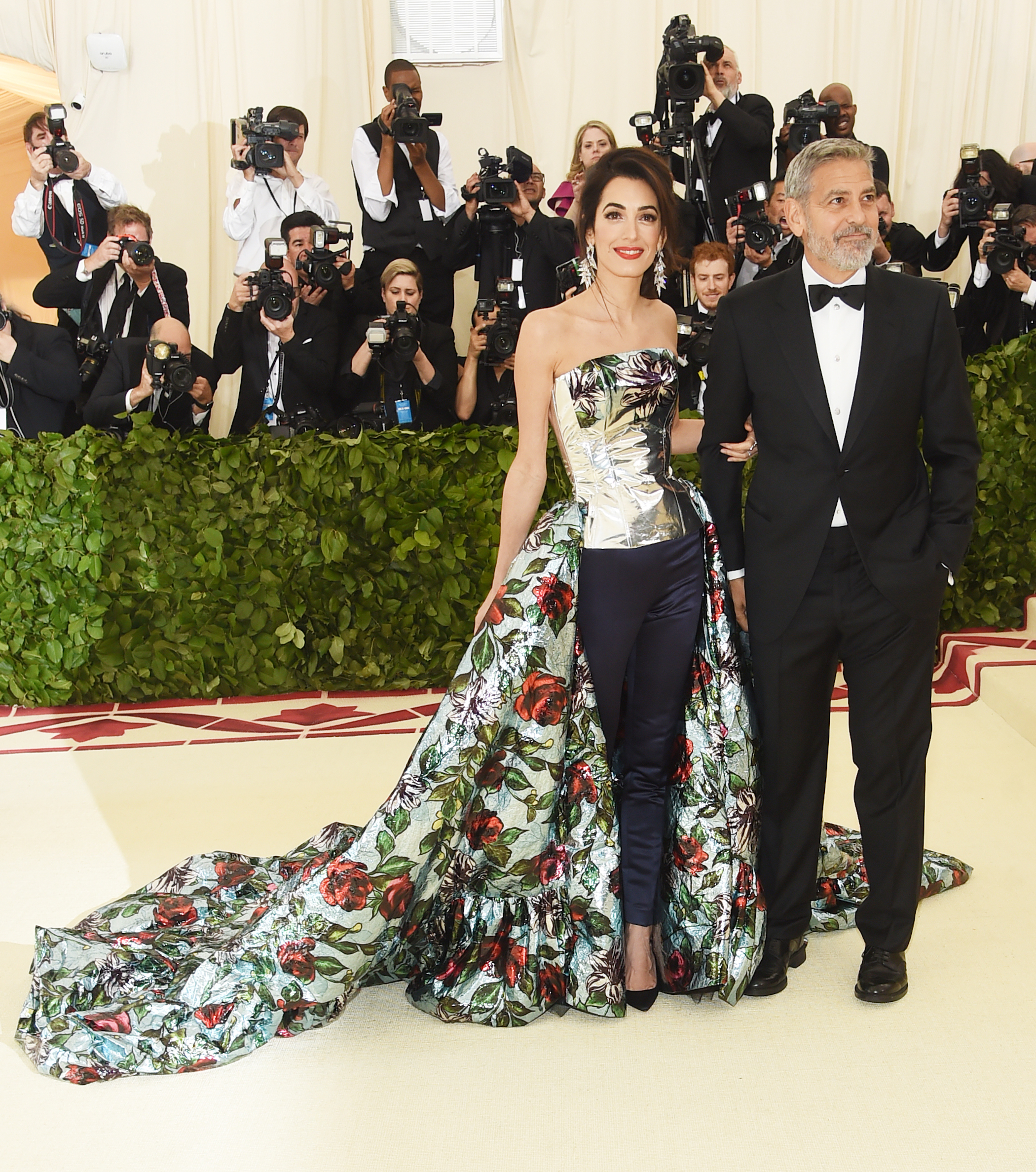 George Clooney Just Introduced Himself as  Amal Clooney's Husband