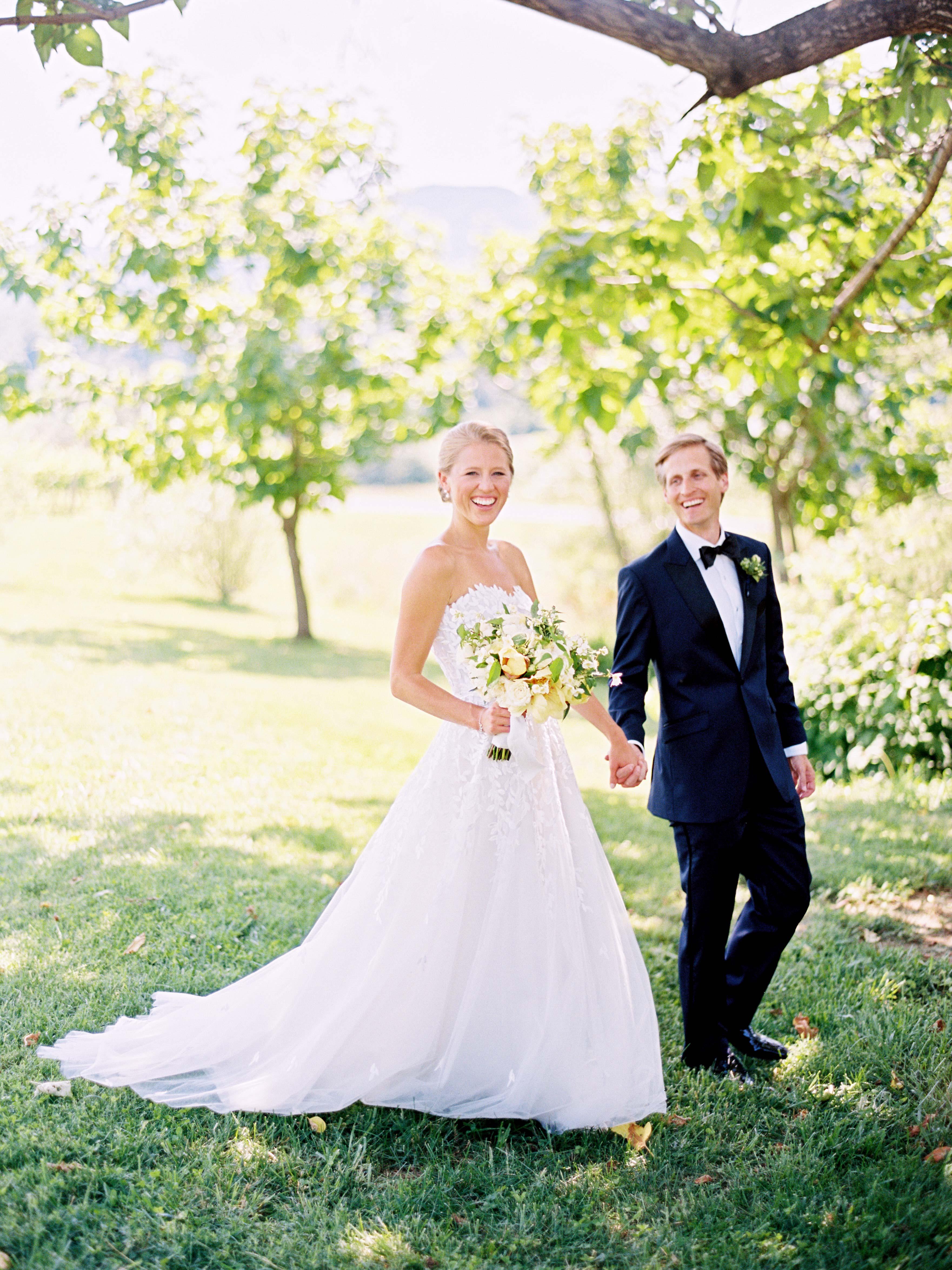 hannah chris wedding north garden va couple