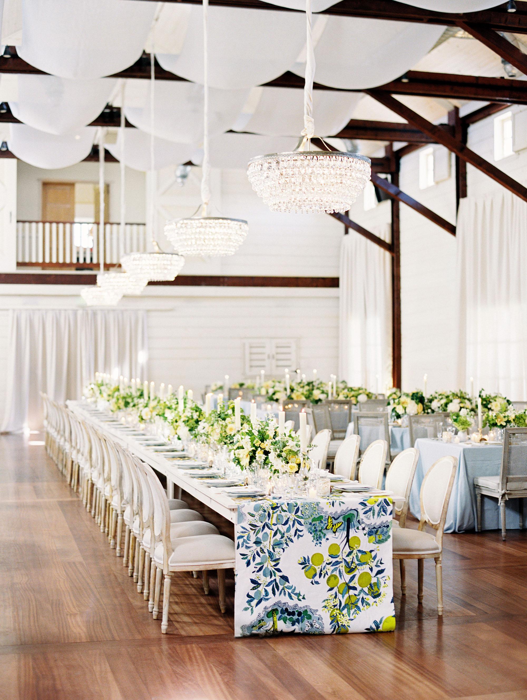 hannah chris wedding north garden va reception space