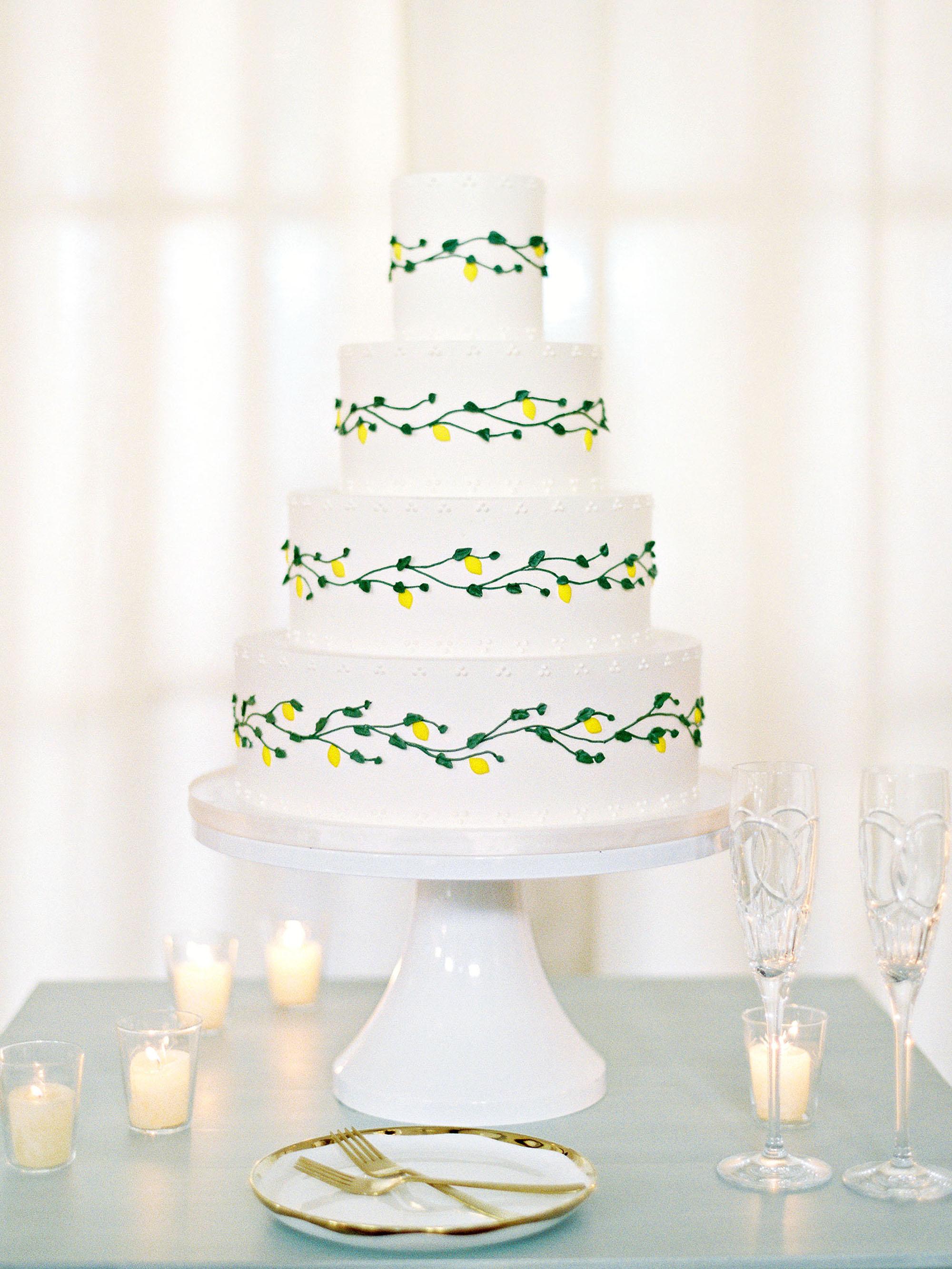 hannah chris wedding north garden va cake