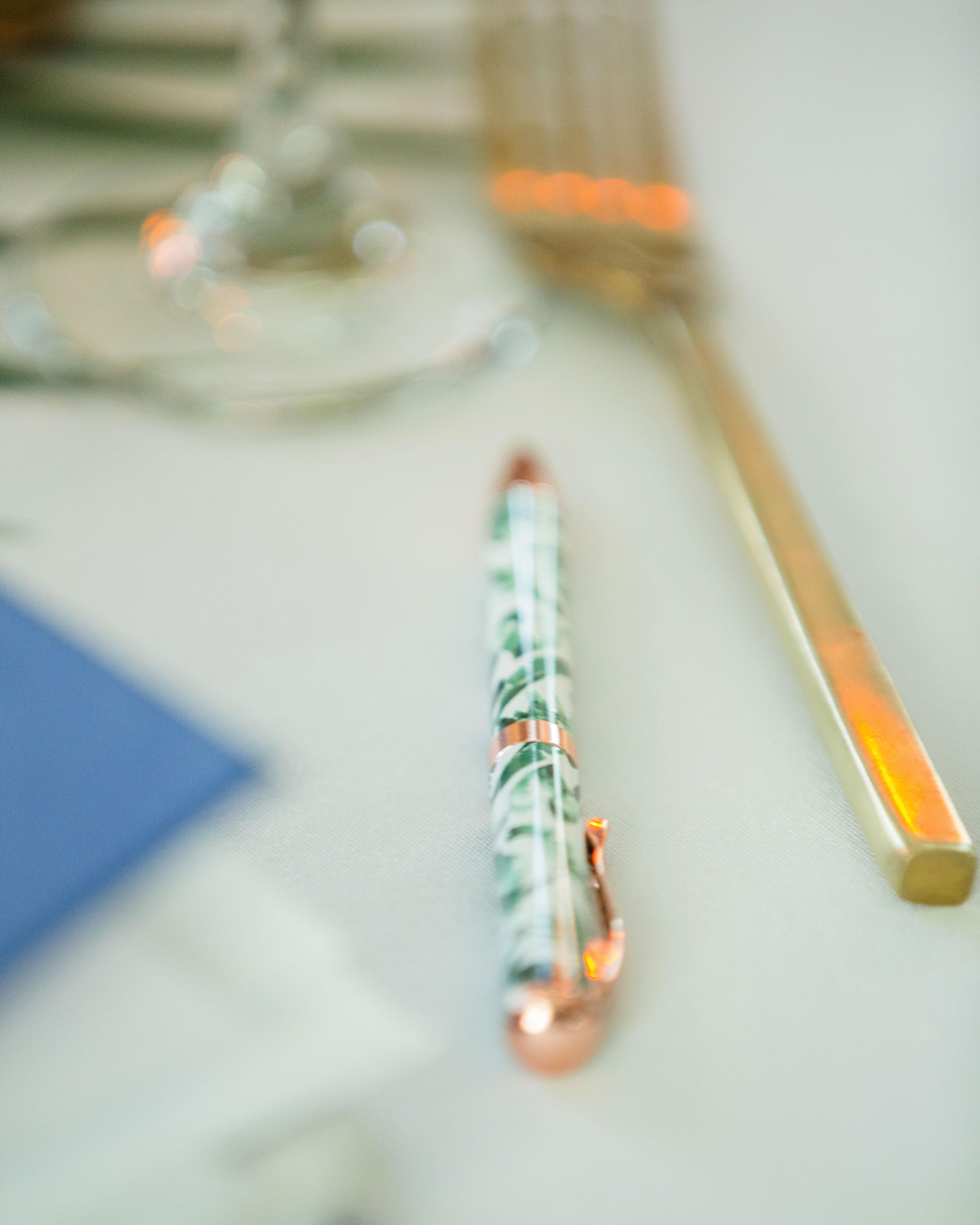 bridal shower favors pen