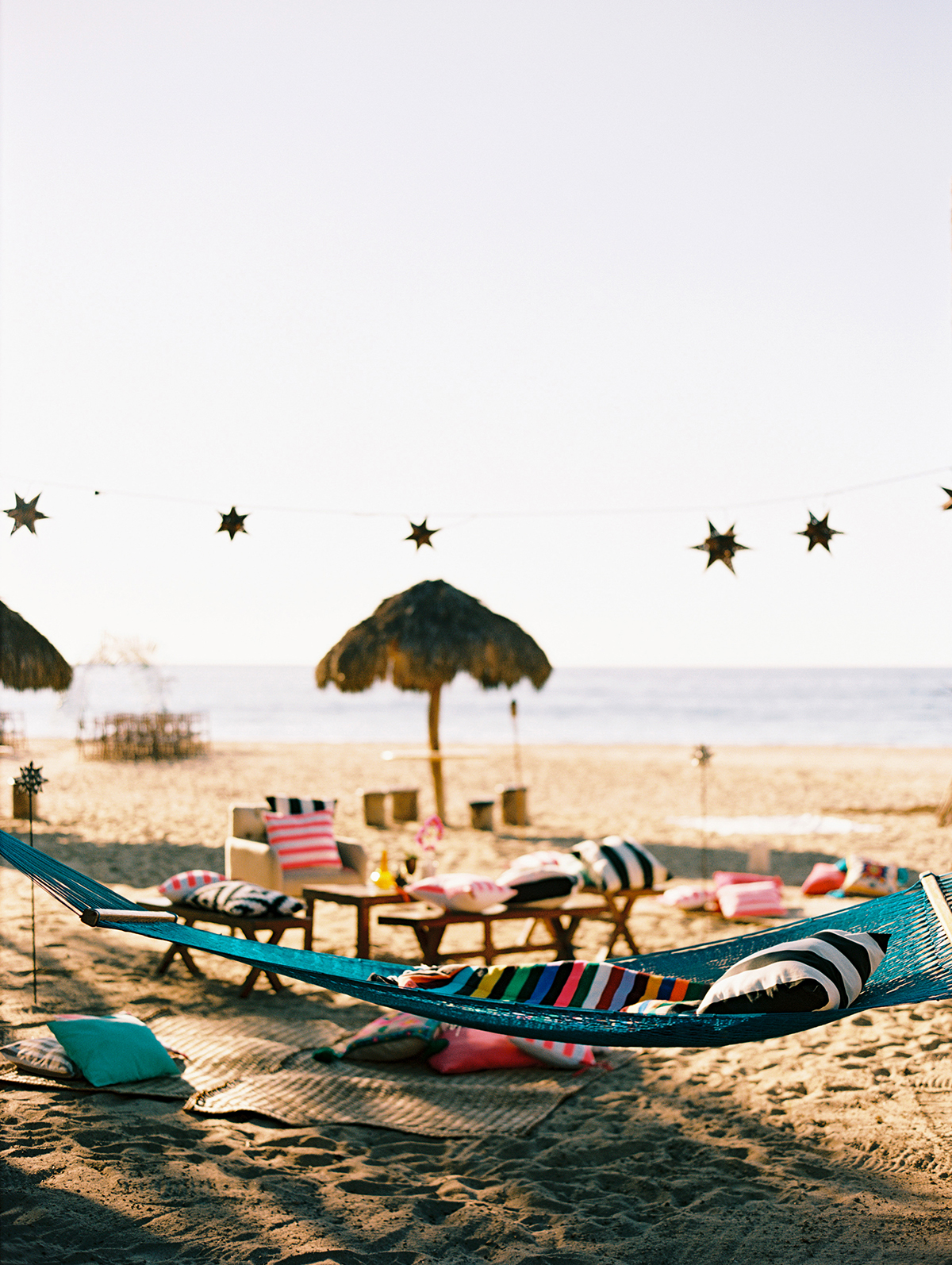 beach wedding lounge