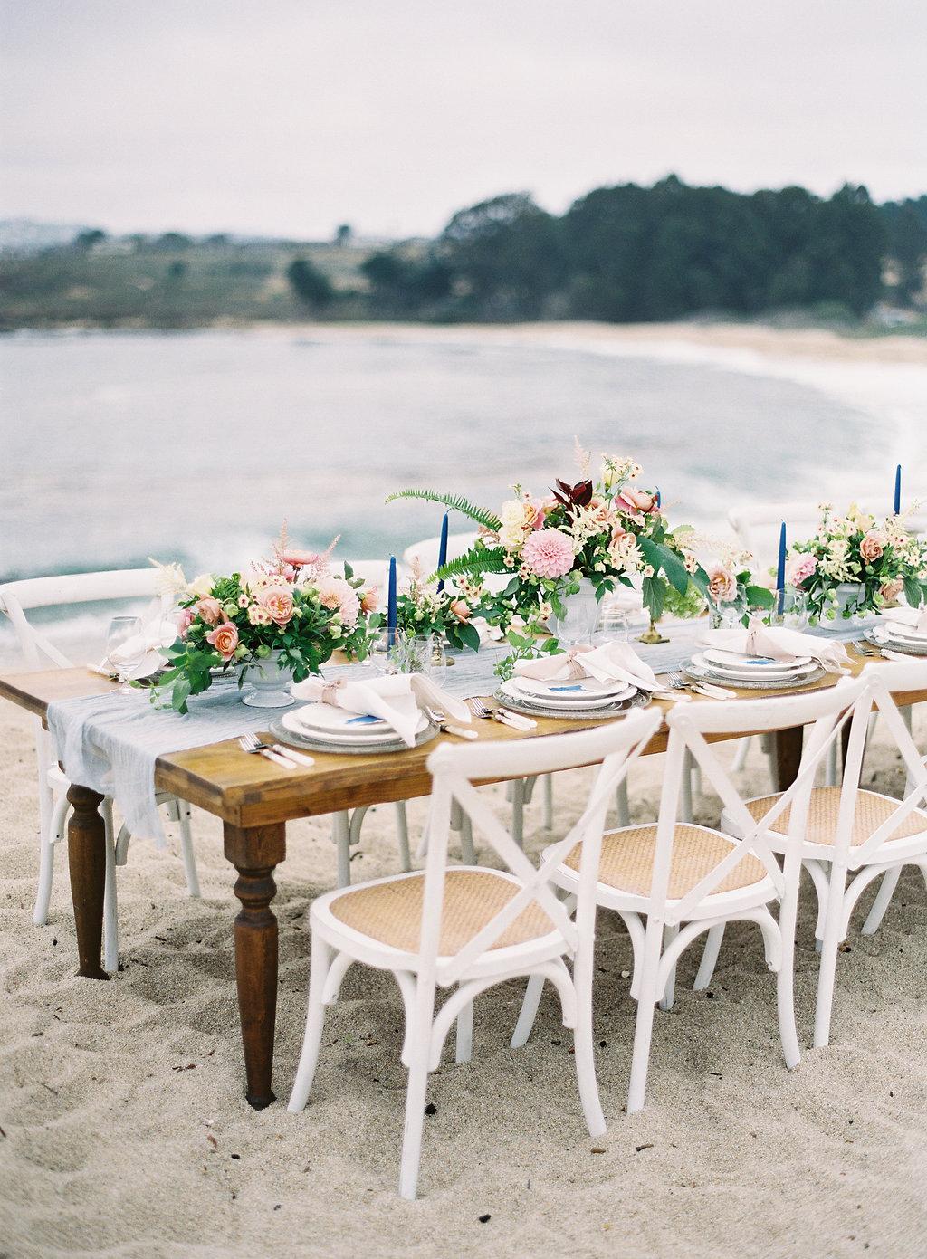 Beach Wedding Shower Furniture