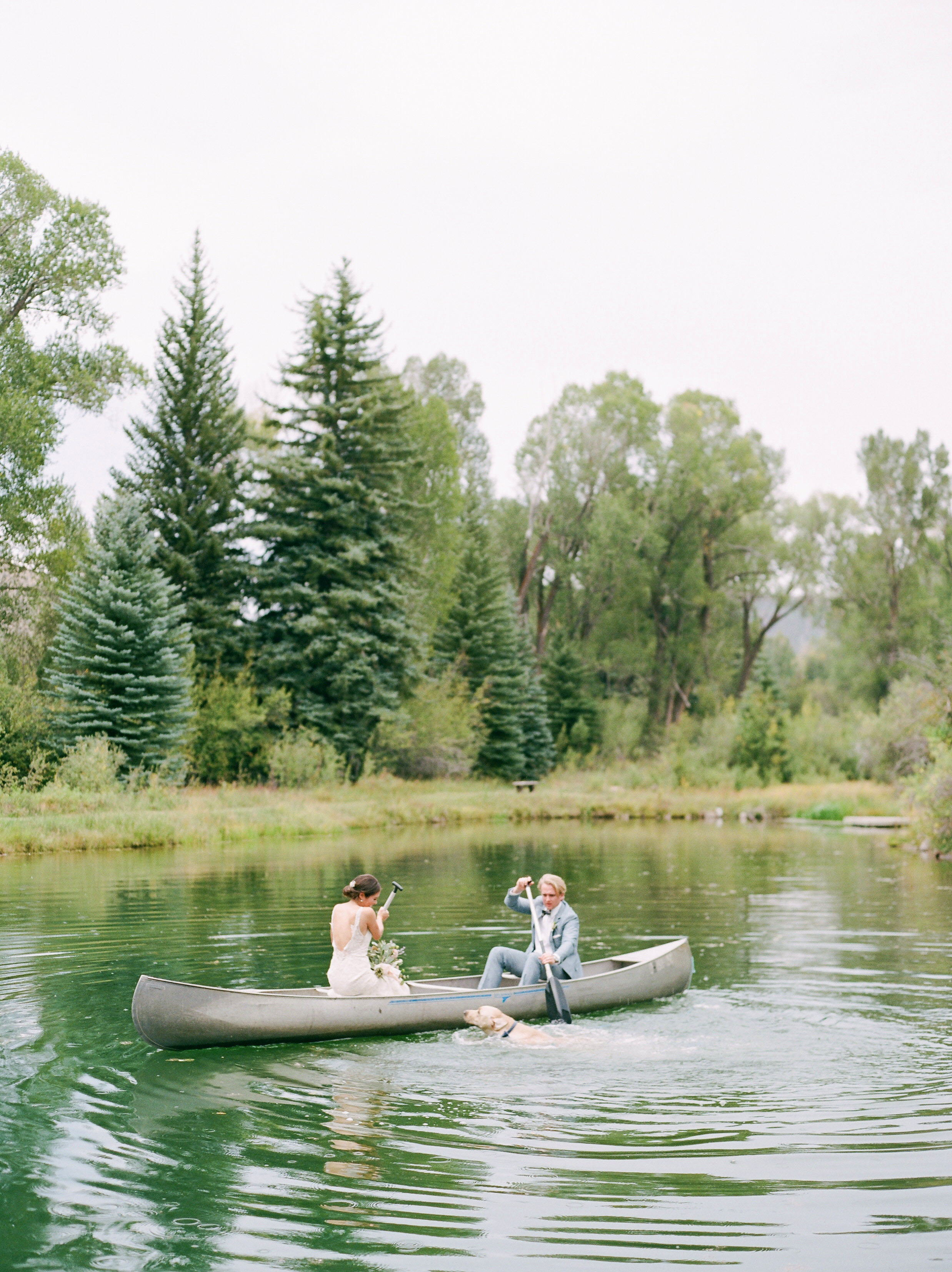 Canoe For Two (or Three)!