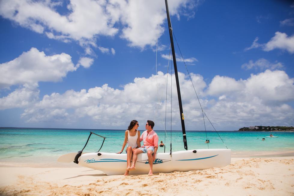 Beach Wedding Shower Land and Sea