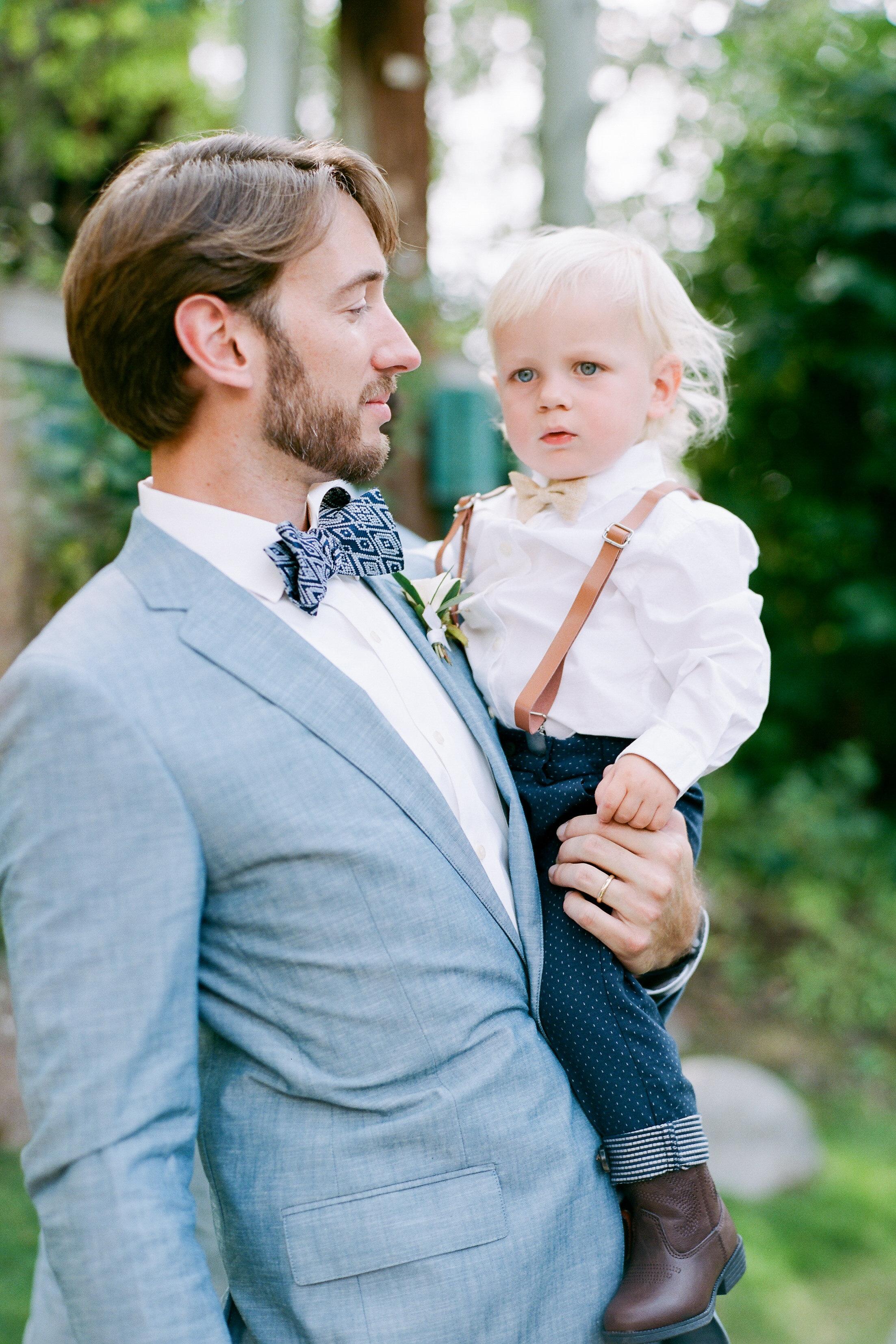 margaux patrick wedding ringbearer