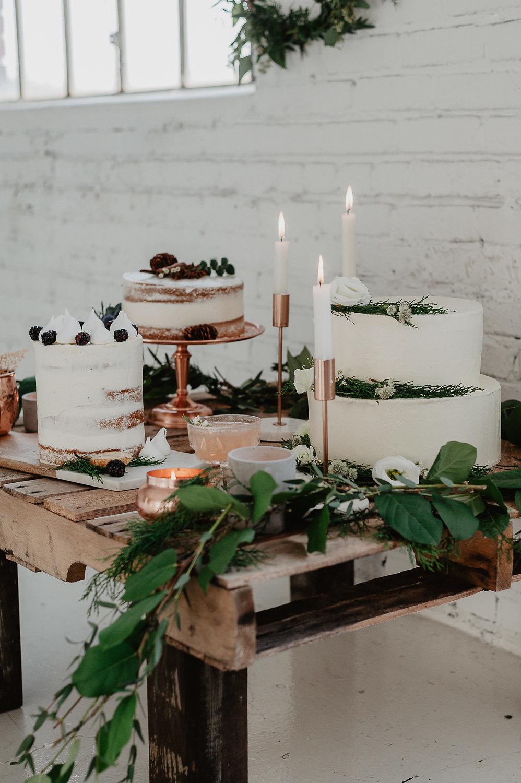 winter bridal shower shoot julia garcia prat cakes