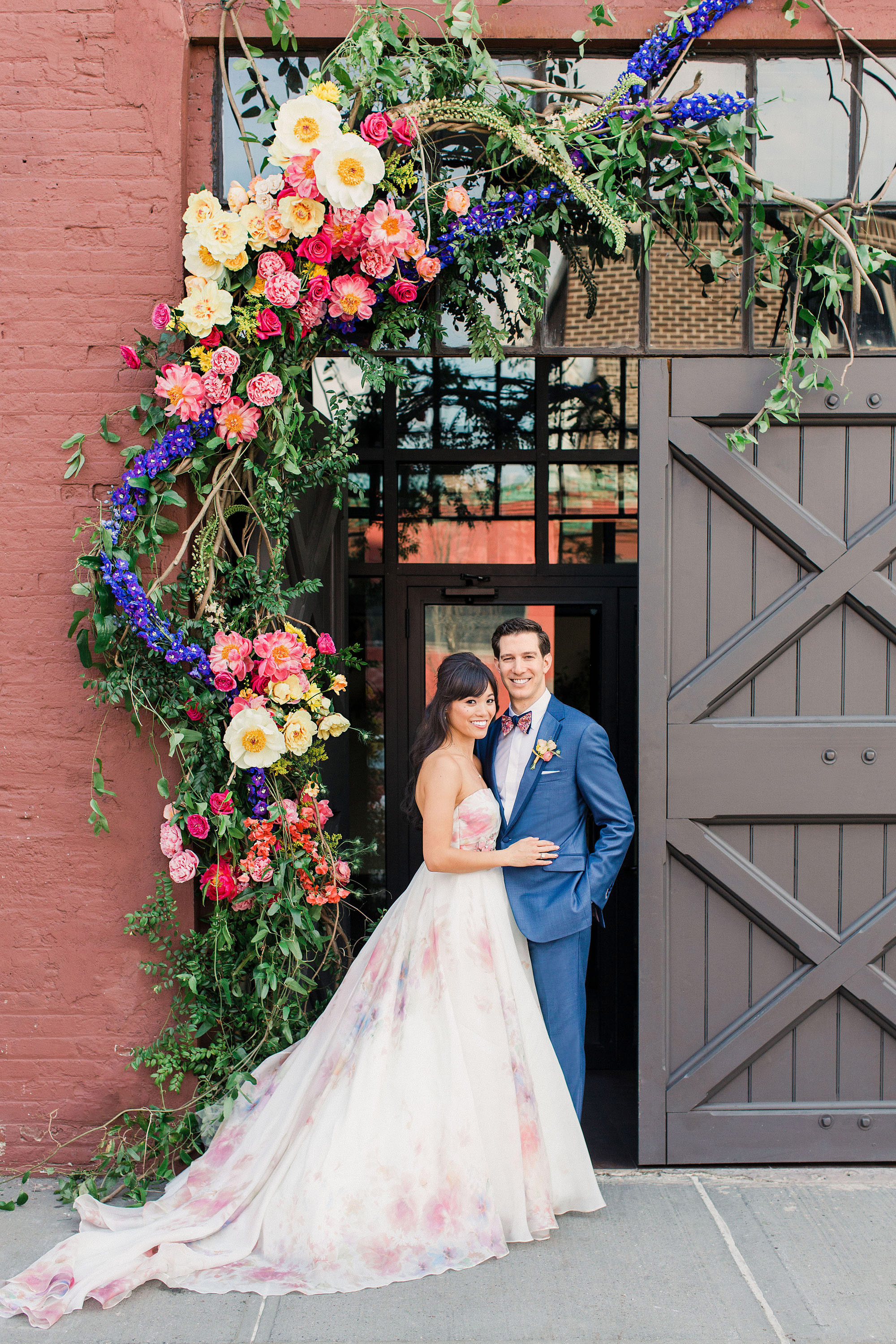 risa ross wedding brooklyn new york couple barn