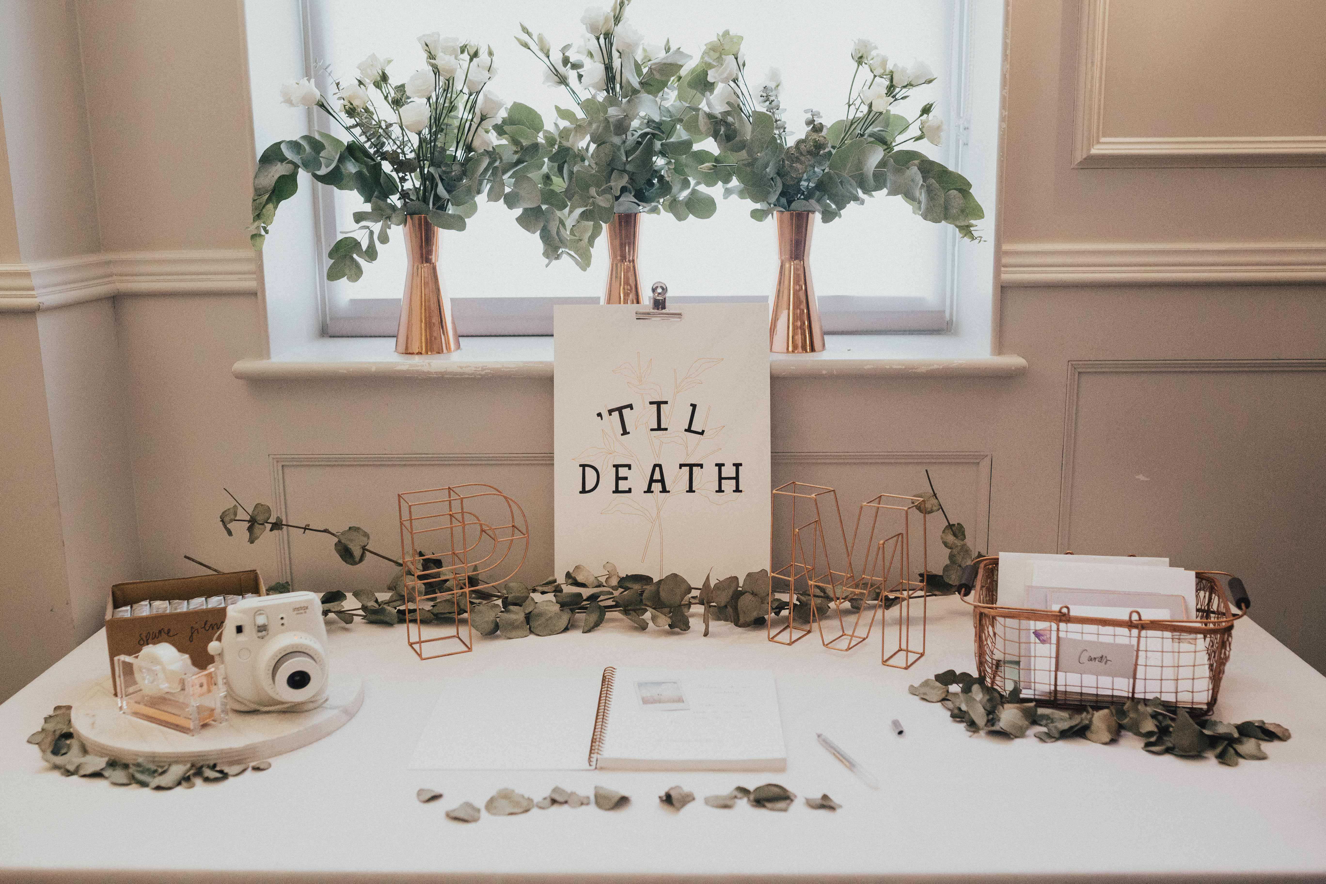 Wedding Gift Table Decorations Sign And Ideas Wedding Gallery