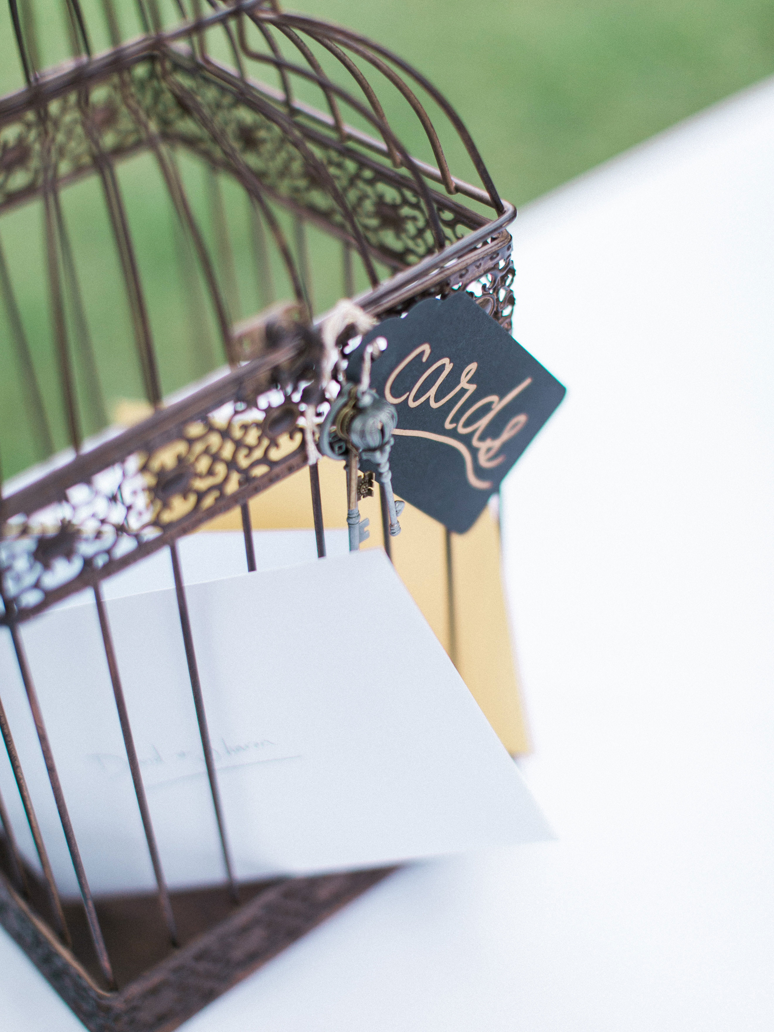 wedding gift tables rachel solomon photography bird cage