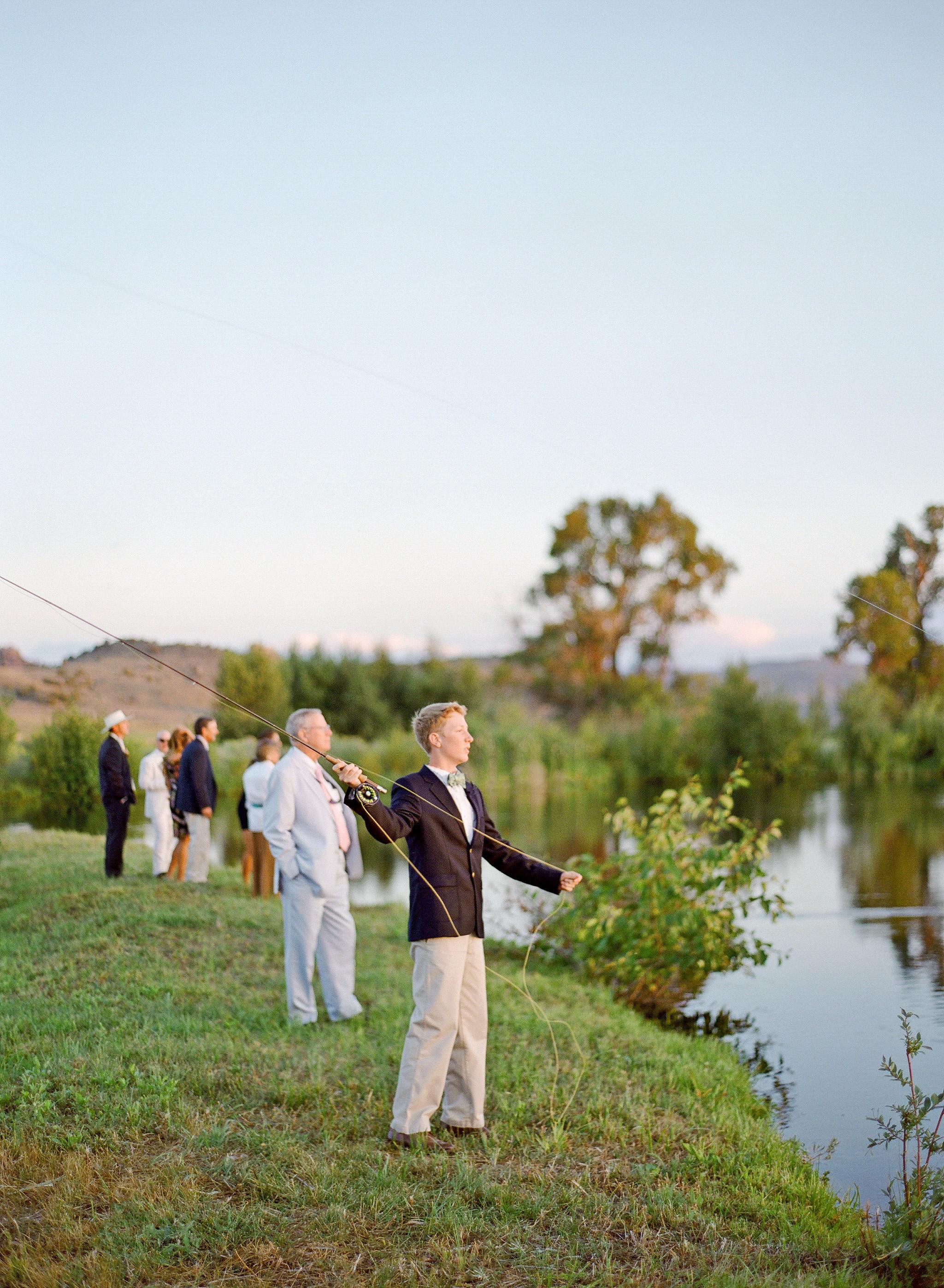 bessie john wedding fishing