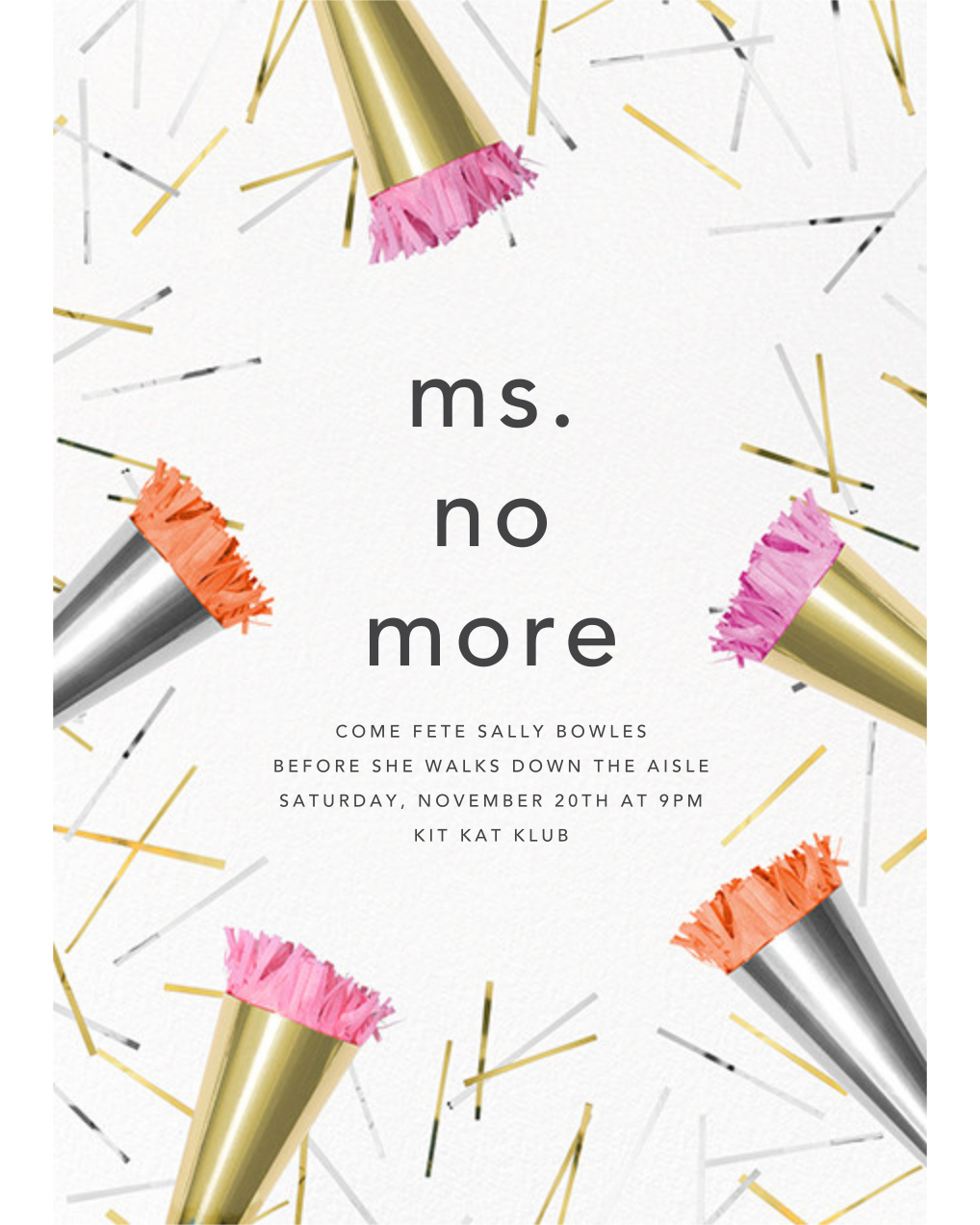 bachelorette party invites paperless post ms no more