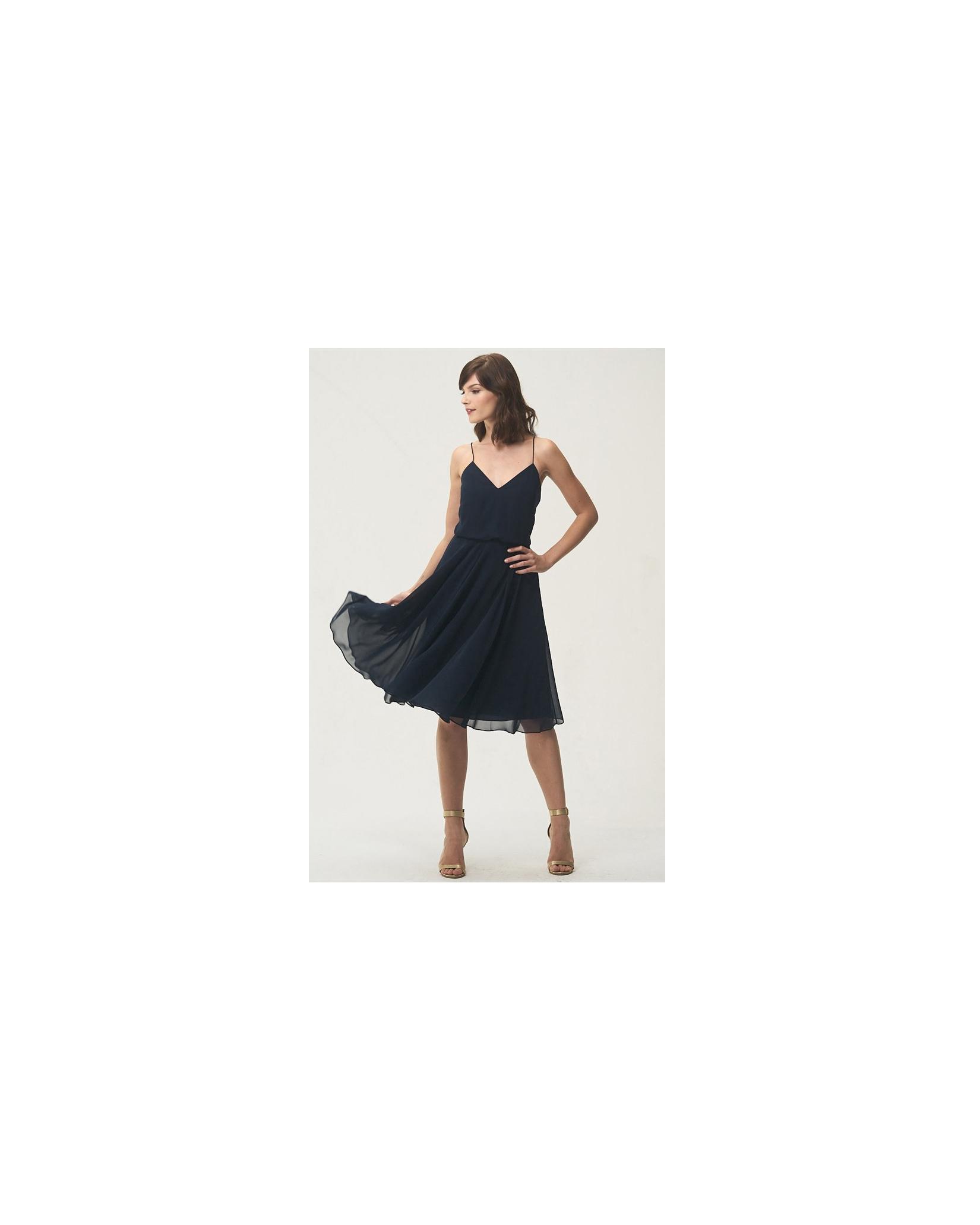 short bridesmaid dresses jenny yoo chiffon