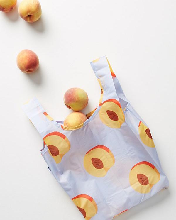"""Baggu Mini Shopper Tote Bag in """"Blue"""""""