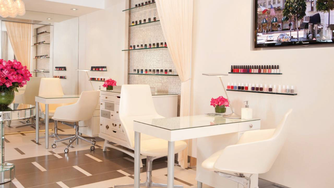 Get Pampered: Nail Bar at The Spa at Beverly Wilshire, Beverly Hills (A Four Seasons Hotel)