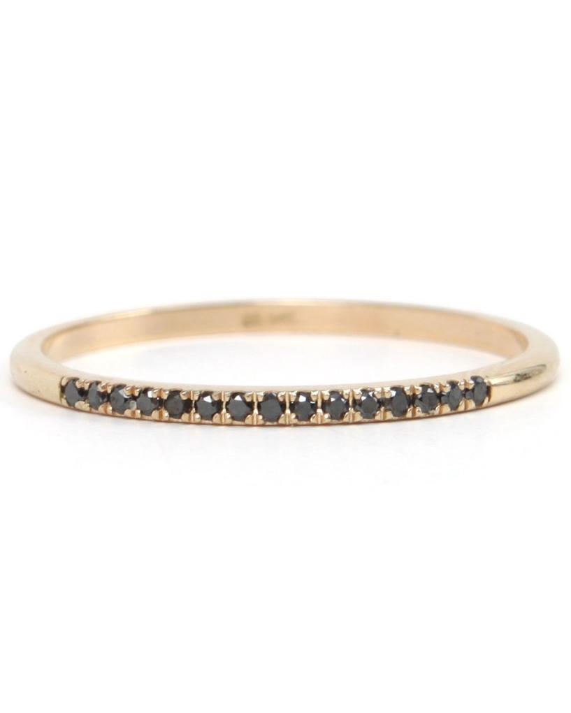 "Catbird ""Fairy Light"" Black-Diamond Ring"