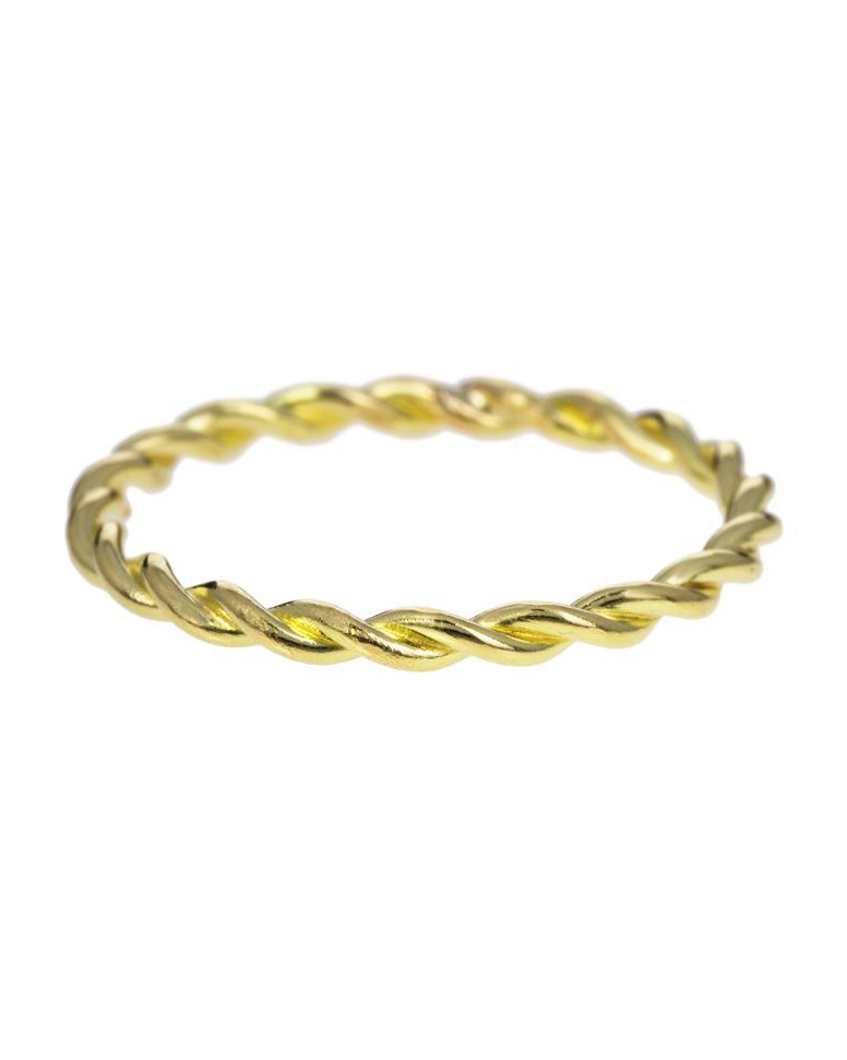 """Tura Sugden """"Twisted Thread"""" Ring"""