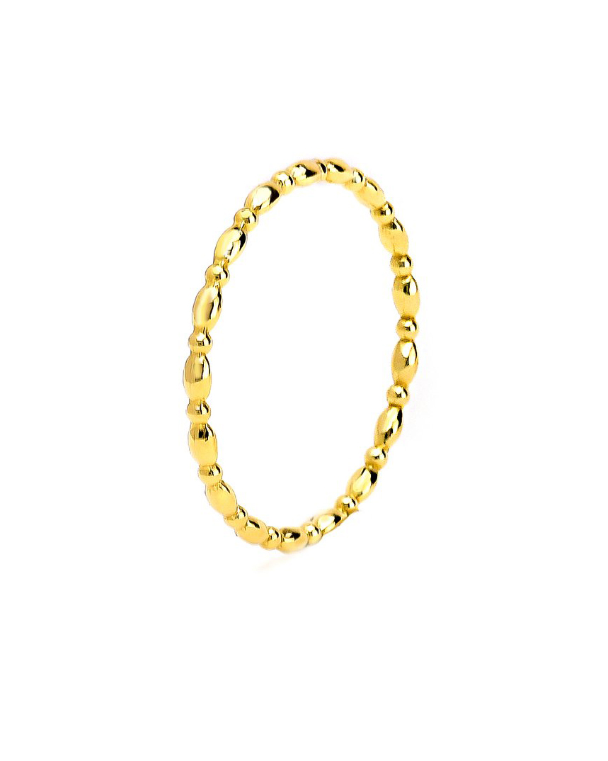 Grace Lee Oval-Beaded Ring