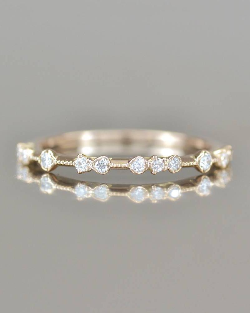 Kataoka Diamond Dotted Ring
